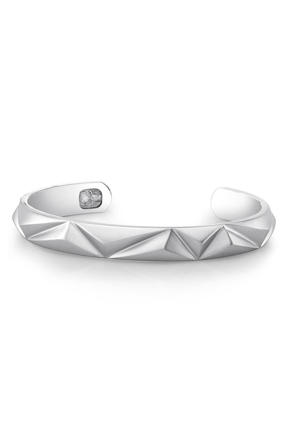 Pyramid Cuff Bracelet,                             Main thumbnail 2, color,