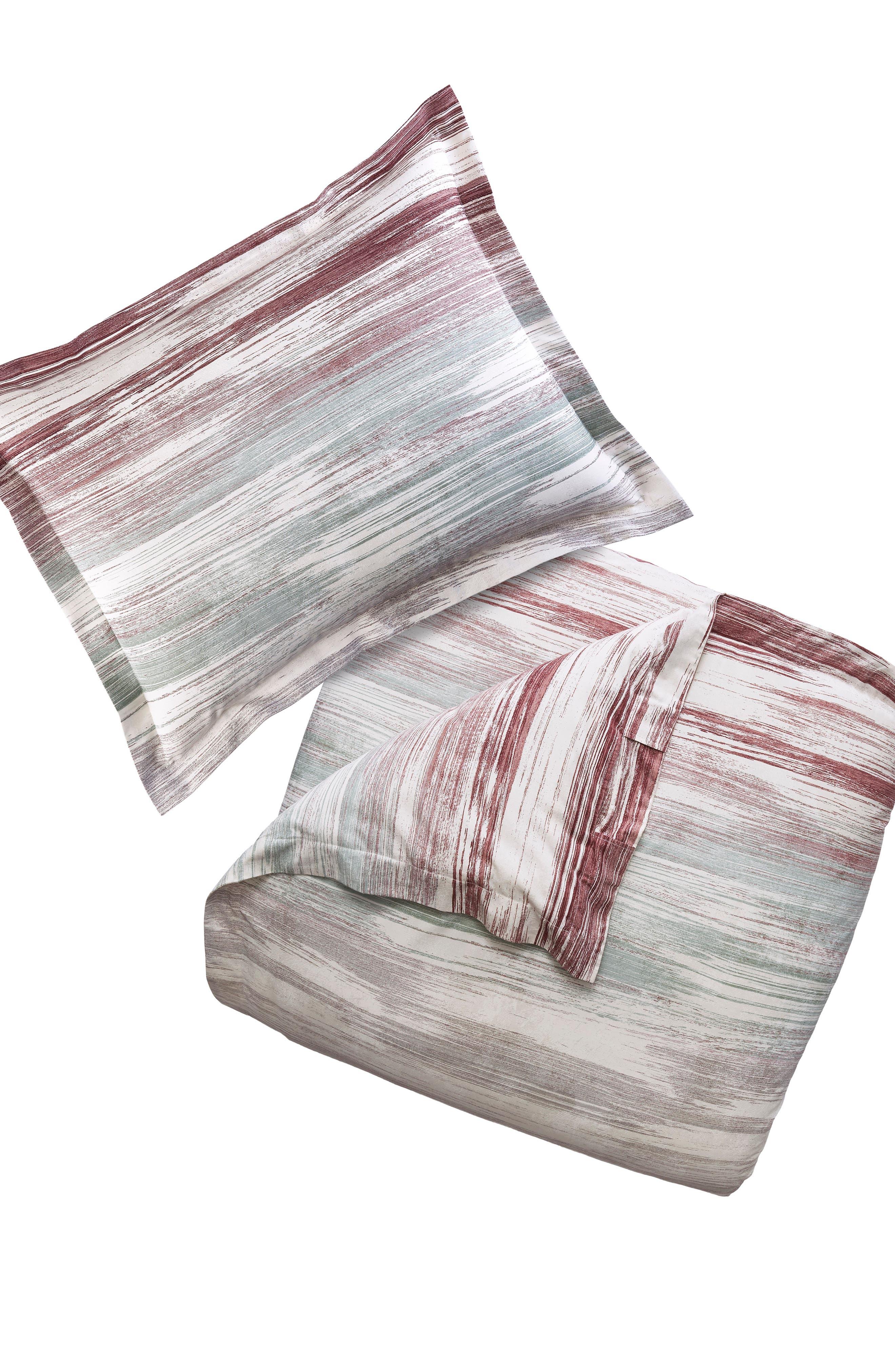Midnight Brushstrokes Duvet Cover & Sham Set,                         Main,                         color, 511