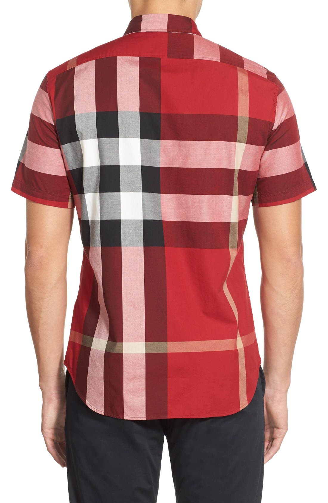 Nelson Check Sport Shirt,                             Alternate thumbnail 50, color,