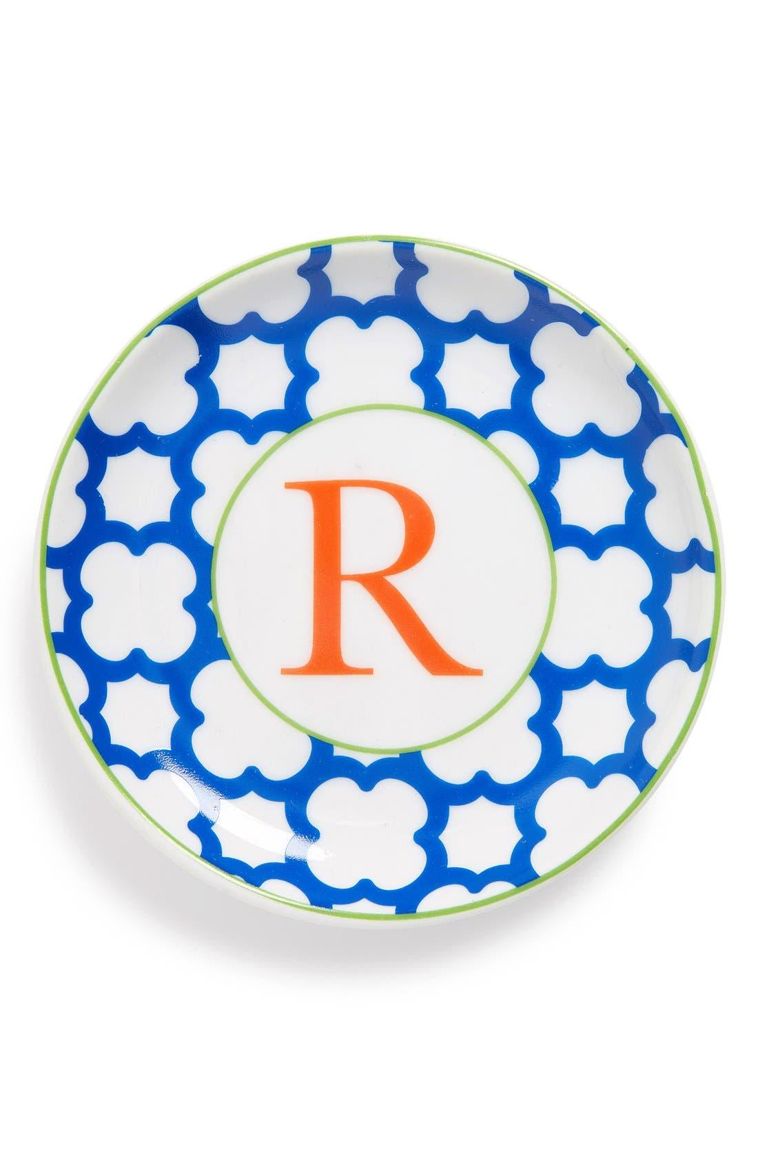 'L'Alphabet' Porcelain Tray,                             Main thumbnail 19, color,