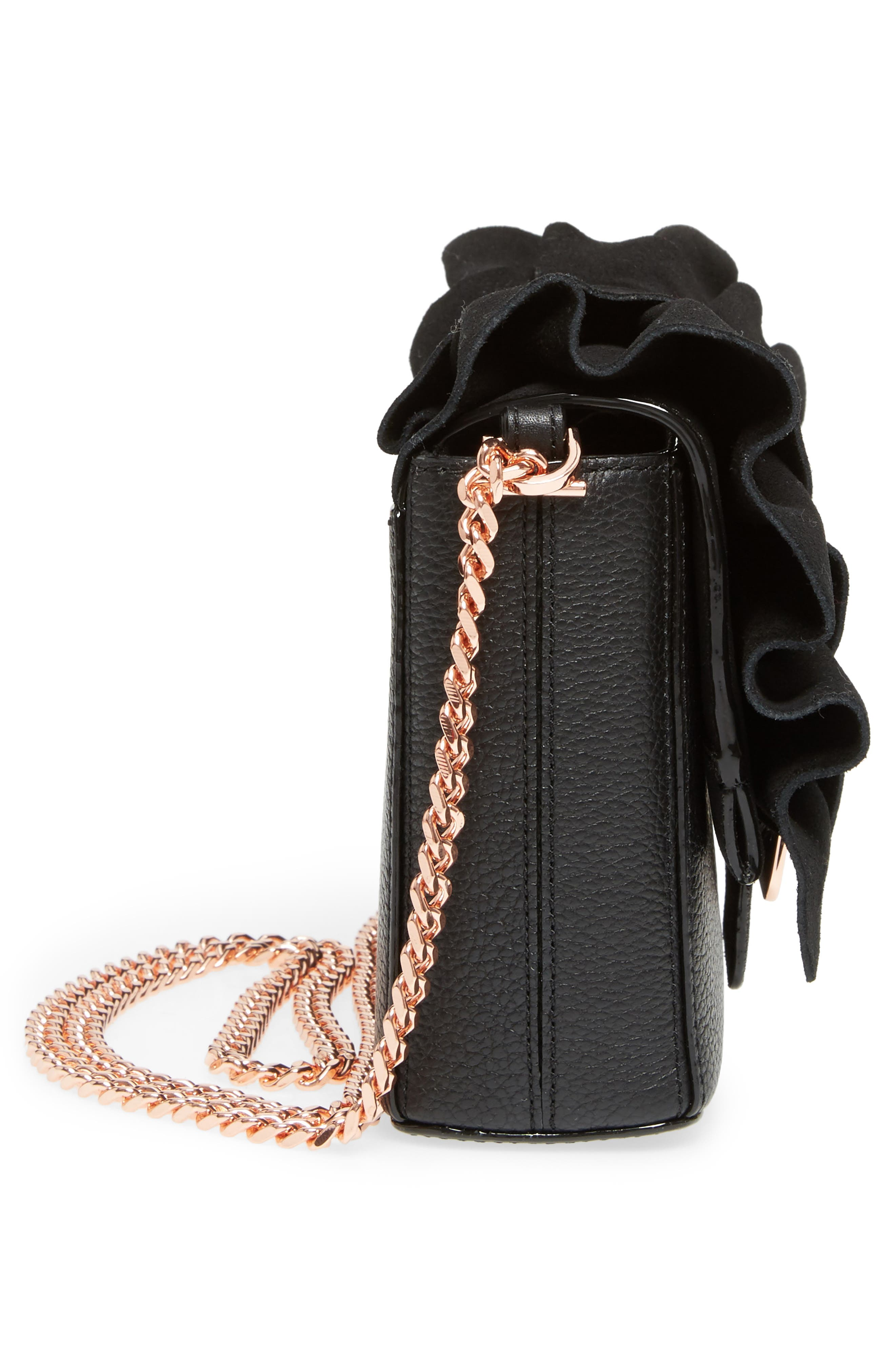 Nerinee Bow Buckle Clutch,                             Alternate thumbnail 13, color,