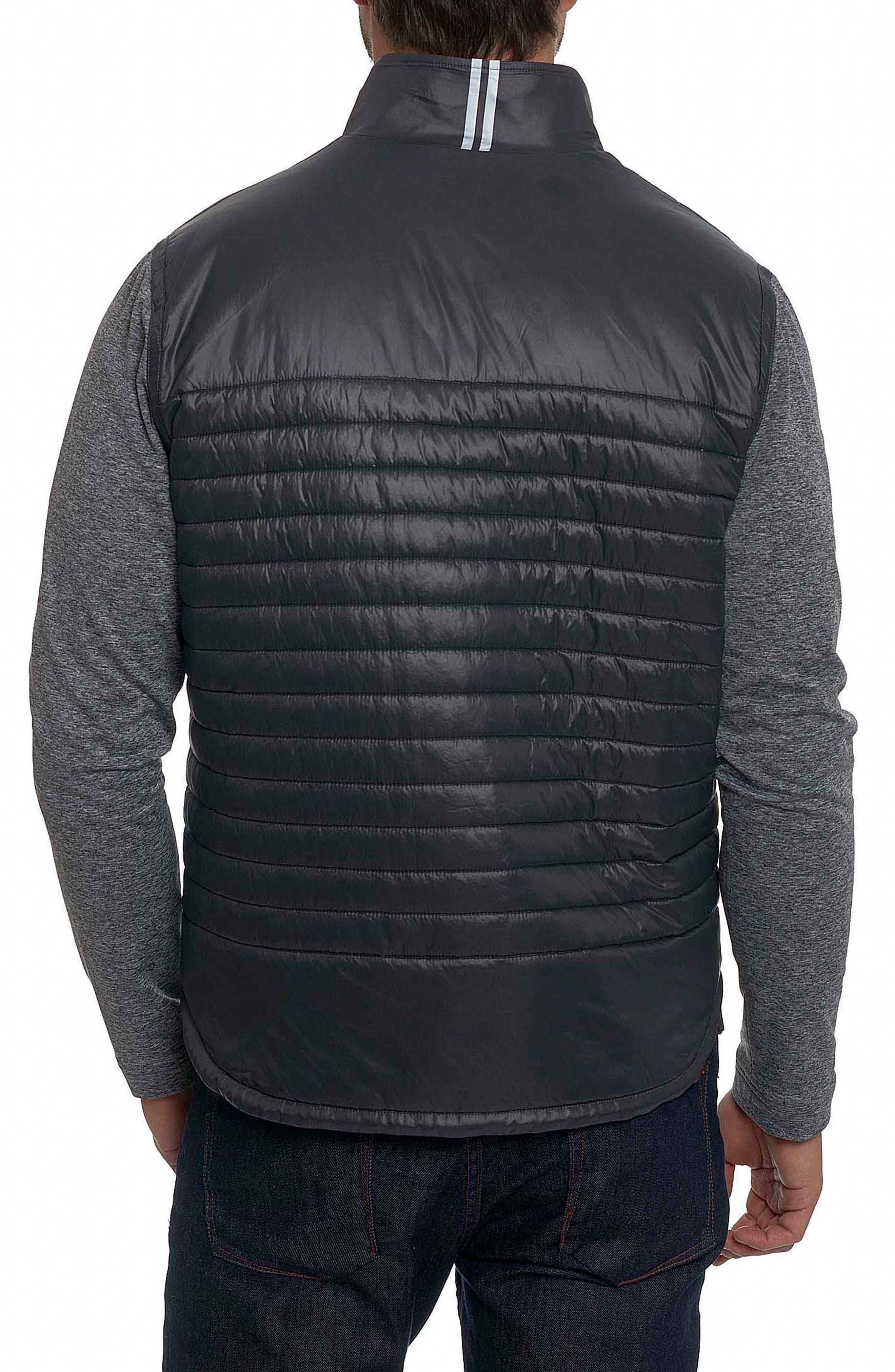 Poconos Tailored Fit Mixed Media Jacket,                             Alternate thumbnail 2, color,                             060