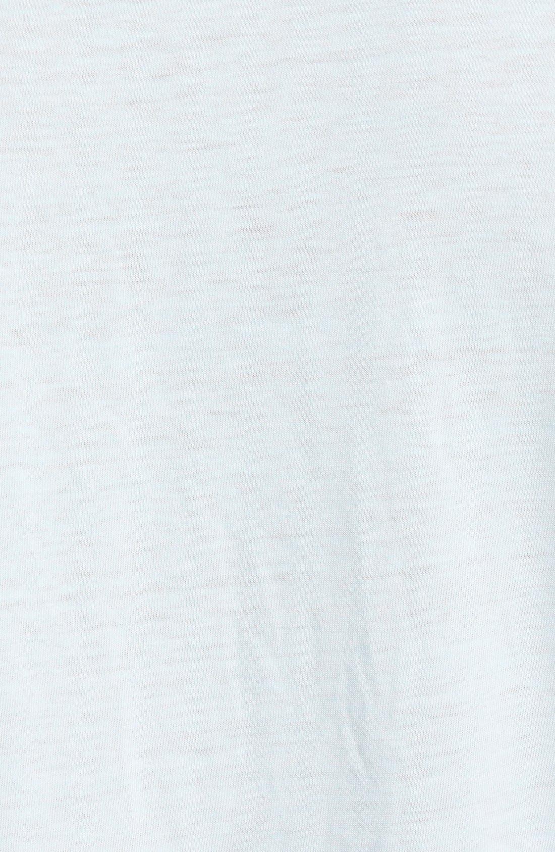 Scallop Triblend Crewneck T-Shirt,                             Alternate thumbnail 43, color,