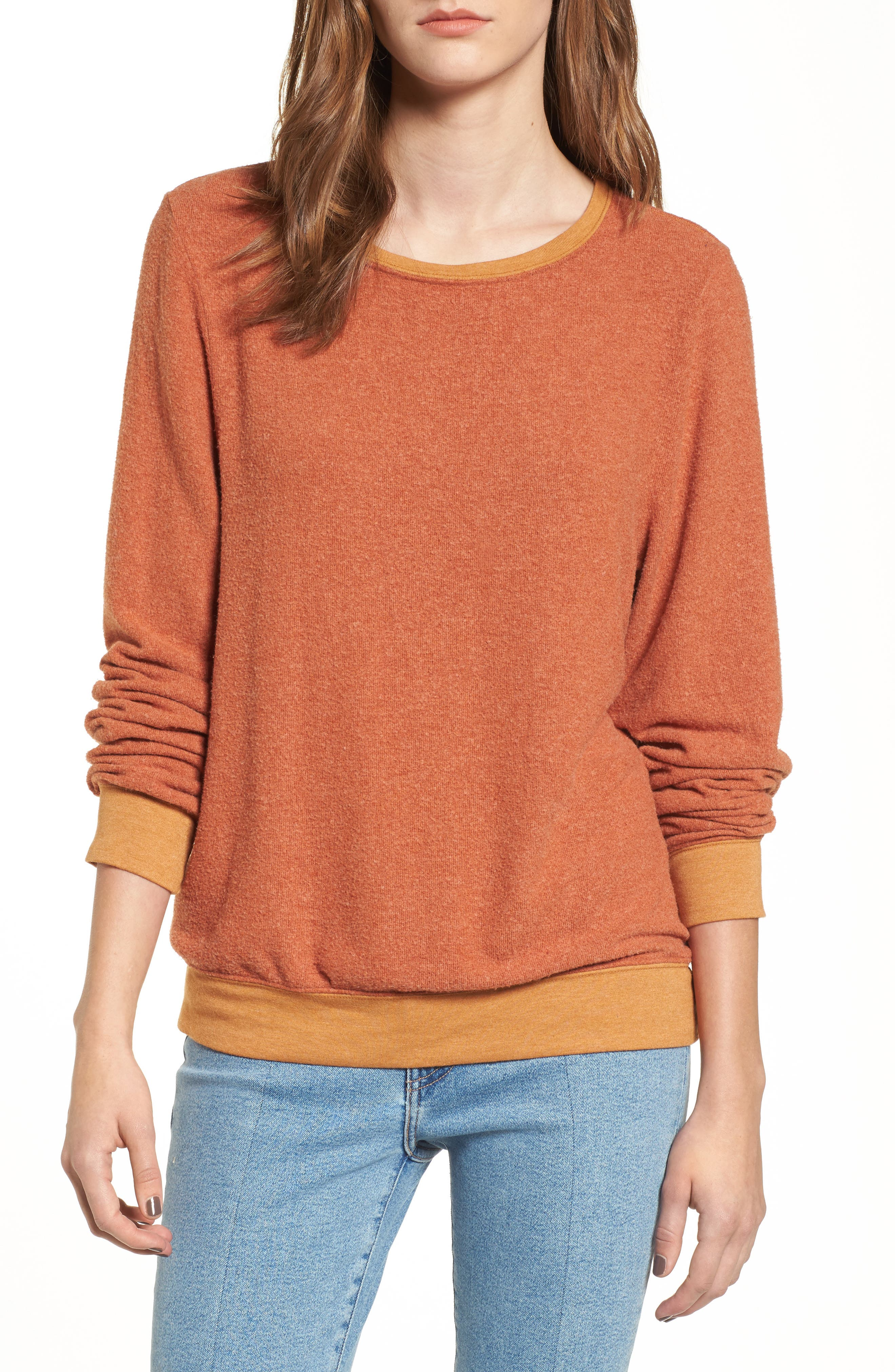 'Baggy Beach Jumper' Pullover,                             Main thumbnail 16, color,