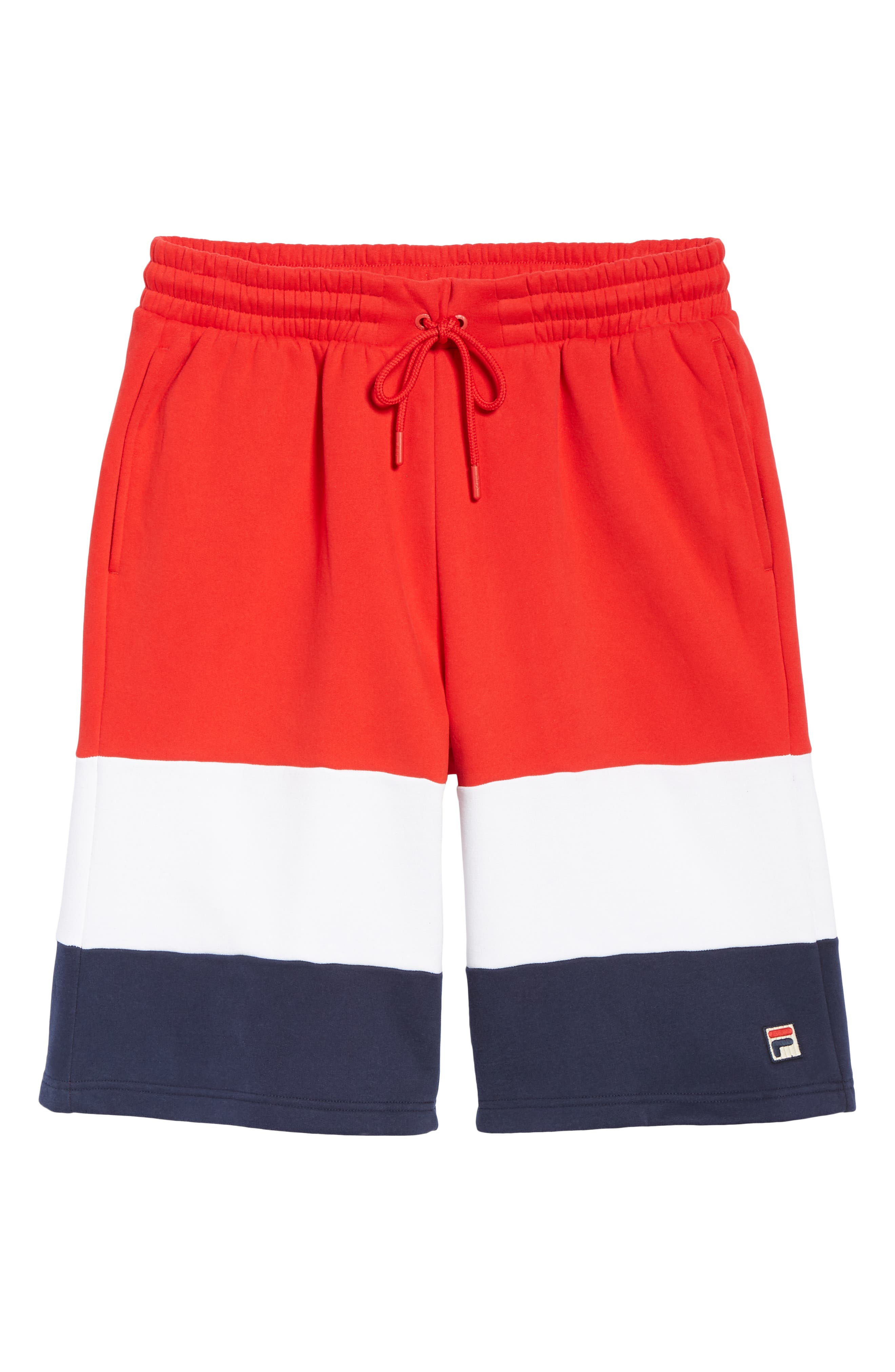 Alanzo Shorts,                             Alternate thumbnail 6, color,                             CHINESE RED/ WHITE/ NAVY