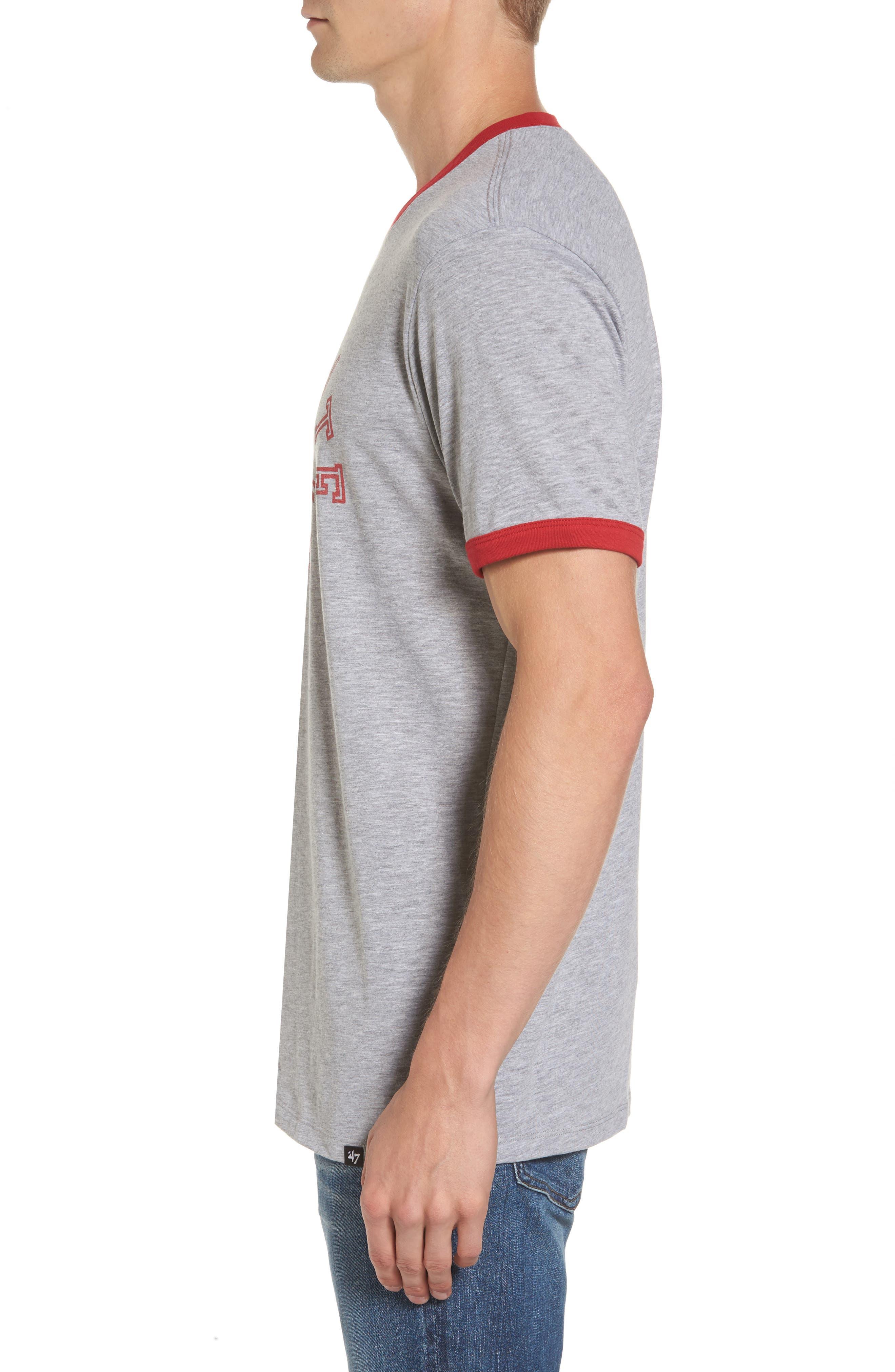 Ohio State Buckeyes Ringer T-Shirt,                             Alternate thumbnail 3, color,                             020