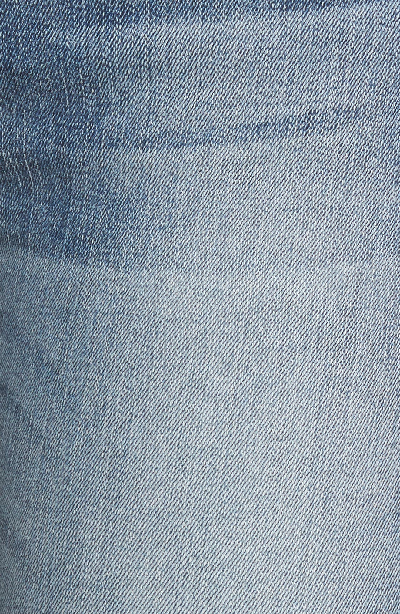 Hudson Nico Ankle Skinny Jeans,                             Alternate thumbnail 5, color,                             GAME CHANGER