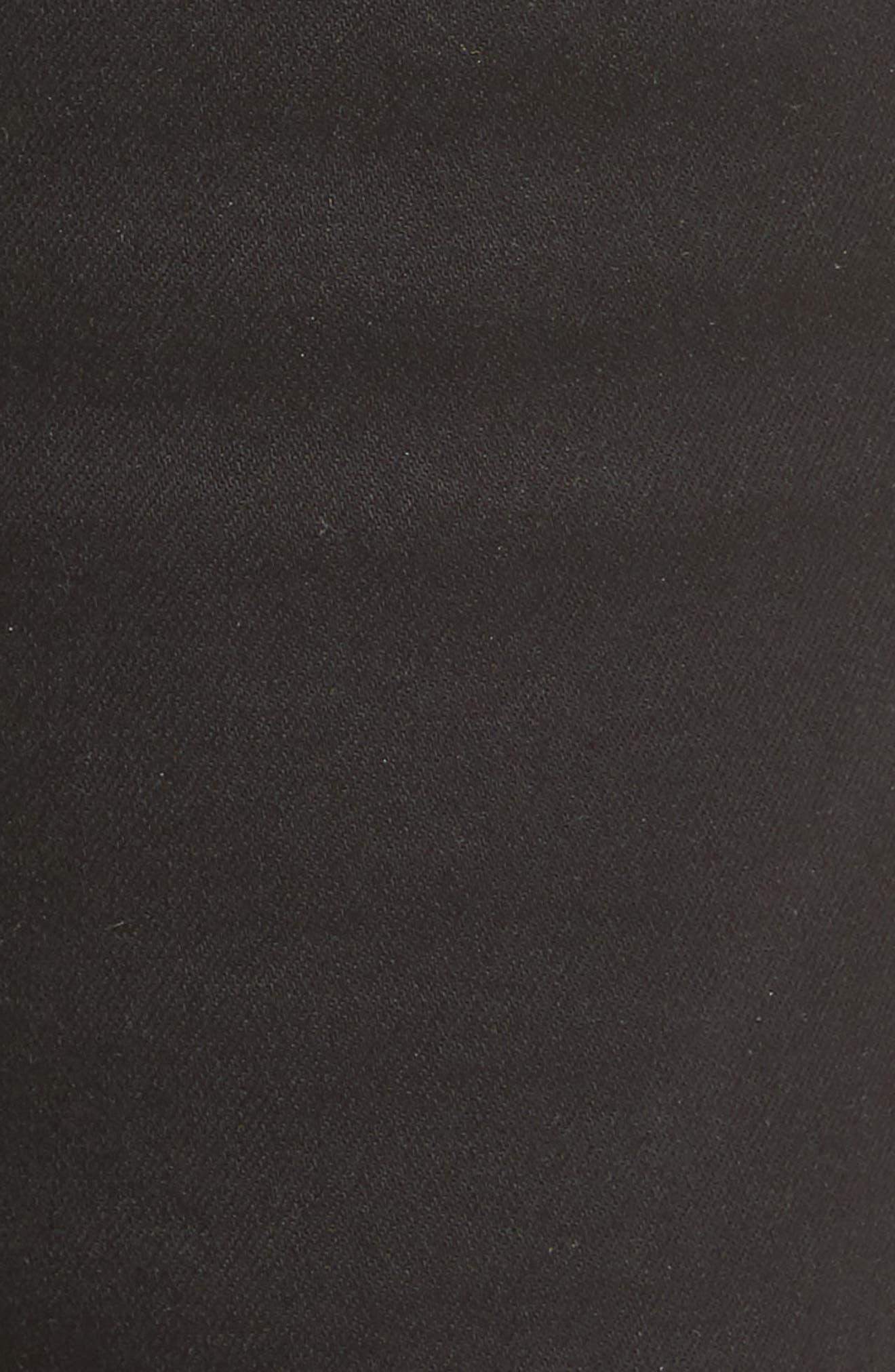 Natalie Stretch Bootleg Jeans,                             Alternate thumbnail 5, color,                             002