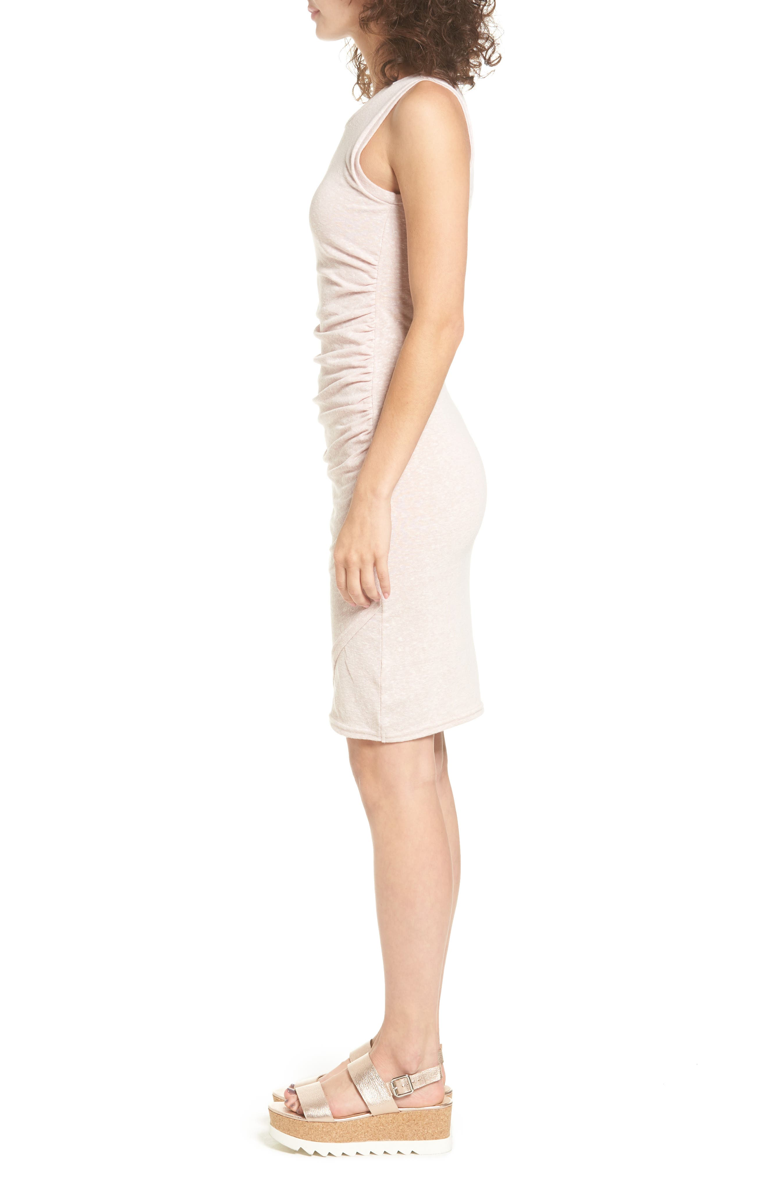 Ruched Body-Con Tank Dress,                             Alternate thumbnail 103, color,