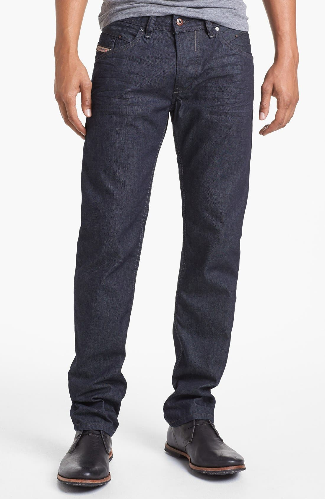 'Belther' Slim Fit Jeans,                             Alternate thumbnail 3, color,                             400