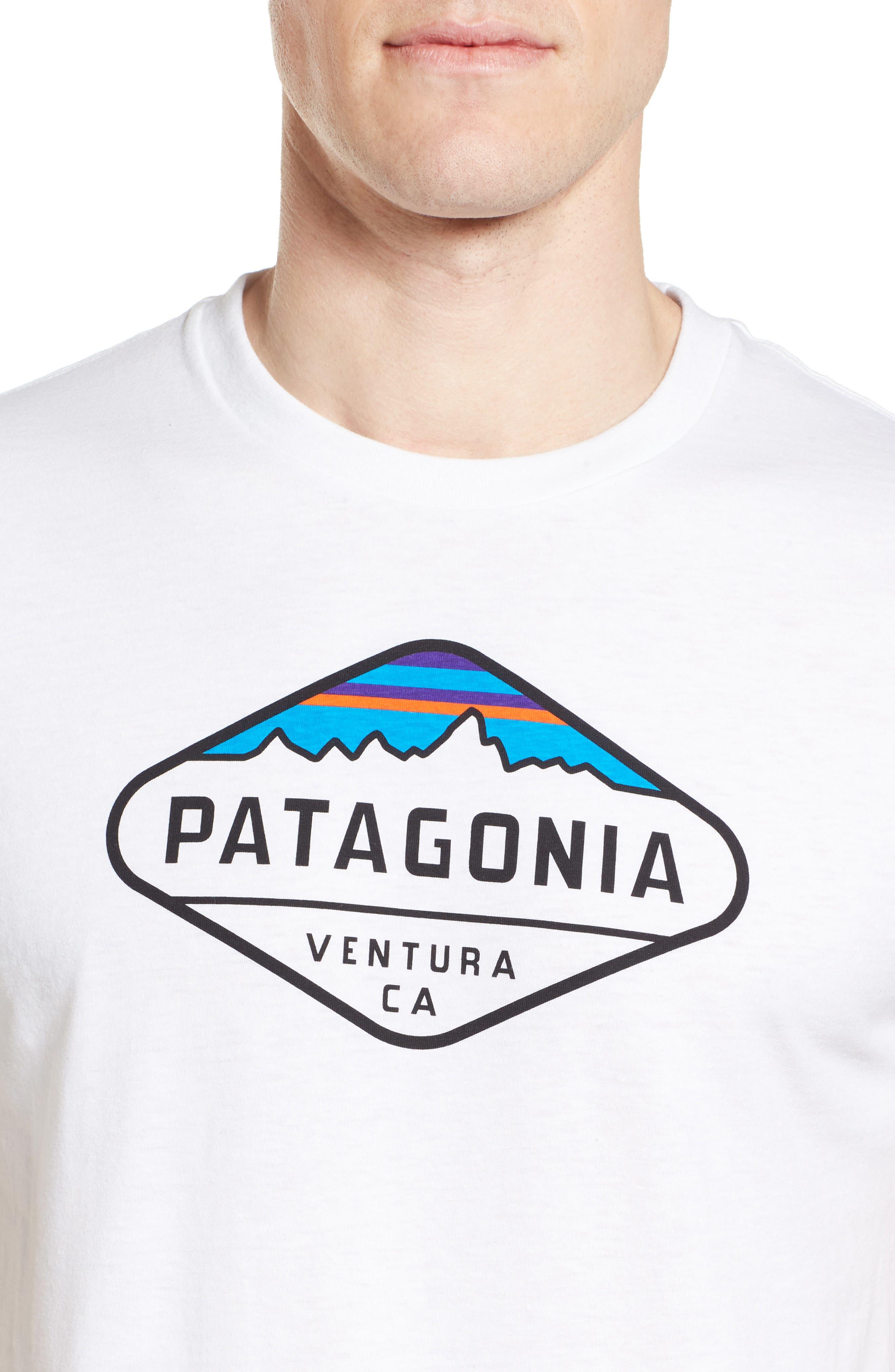 'Fitz Roy Crest' Slim Fit Organic Cotton Blend T-Shirt,                             Alternate thumbnail 27, color,