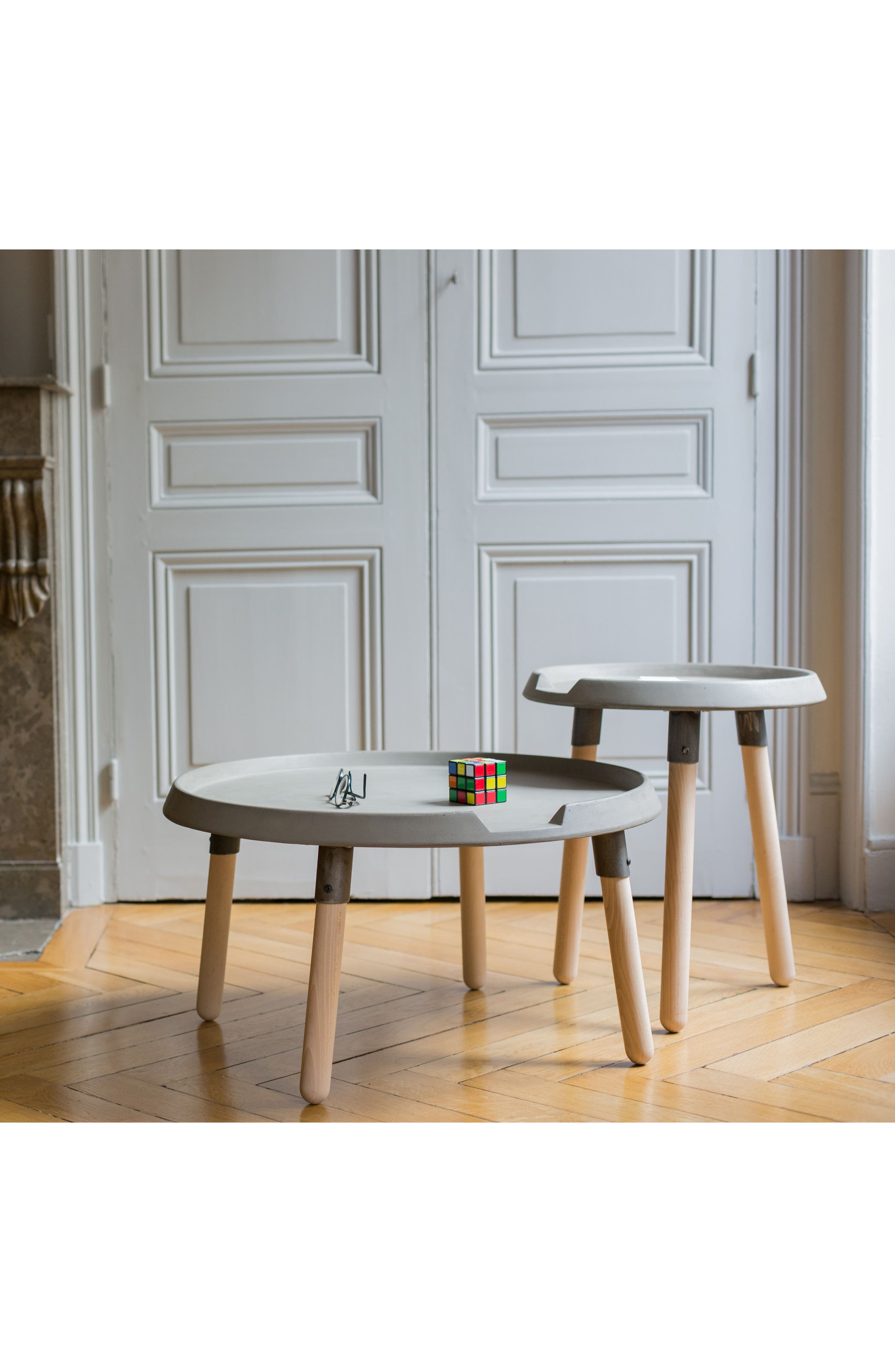 Lyon Béton Mix Side Table,                             Alternate thumbnail 3, color,
