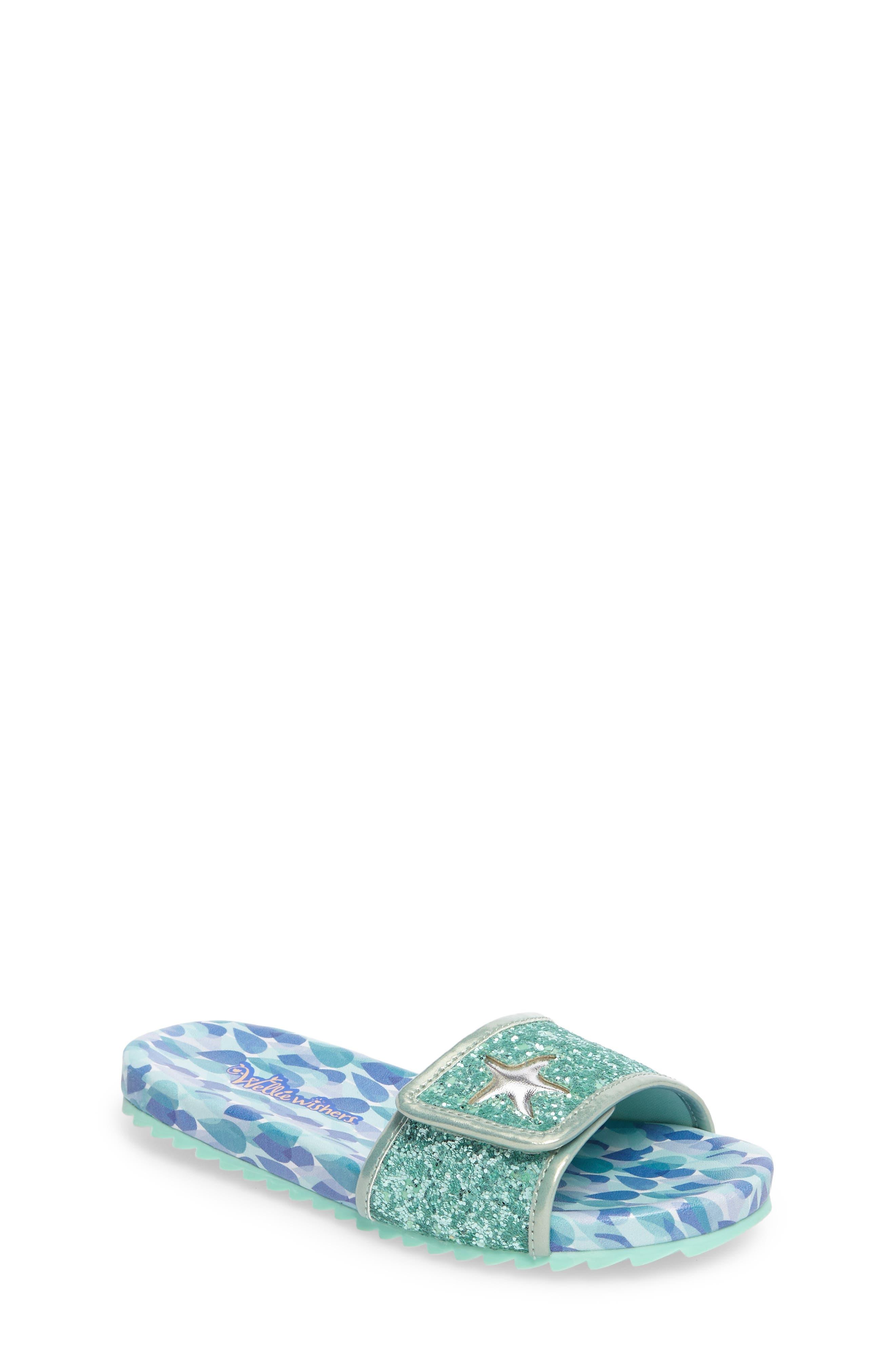 Camille Raindrop Slide Sandal,                         Main,                         color,