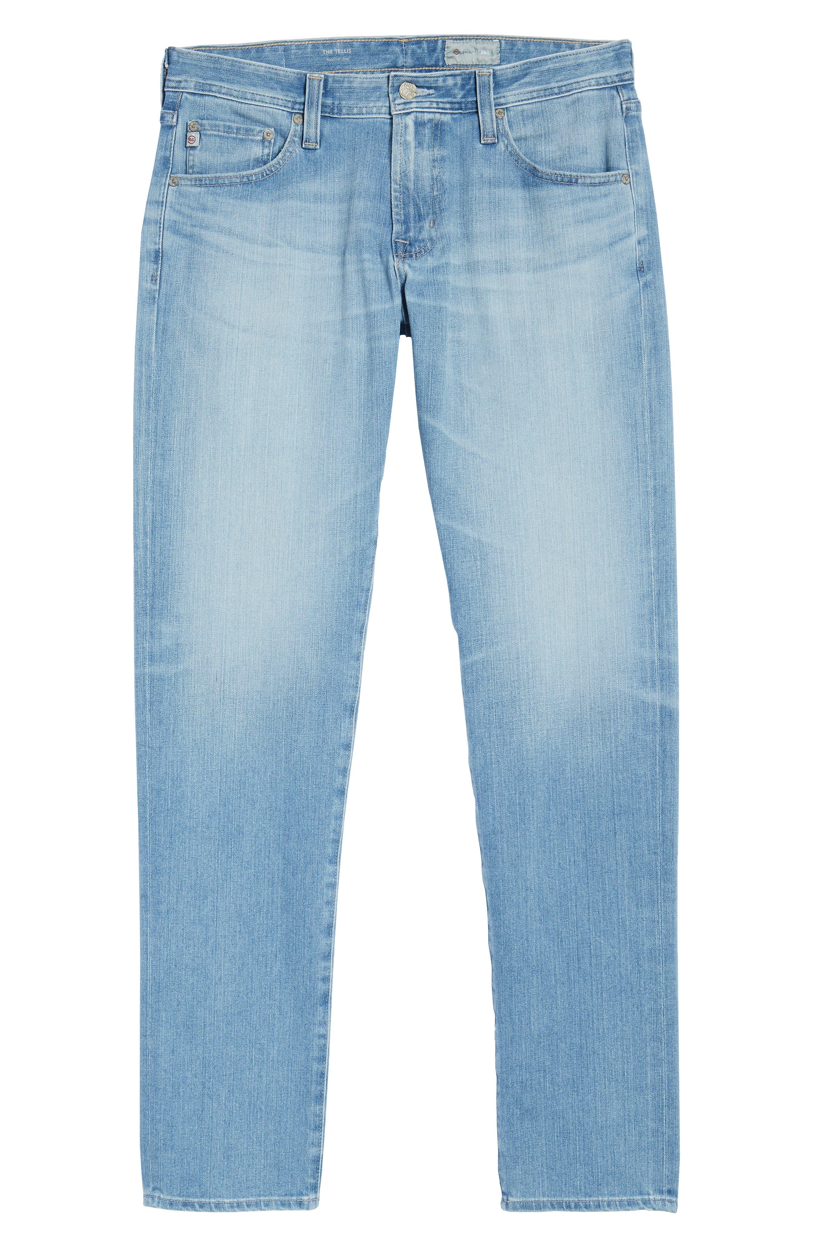 AG,                             Tellis Slim Fit Jeans,                             Alternate thumbnail 6, color,                             498
