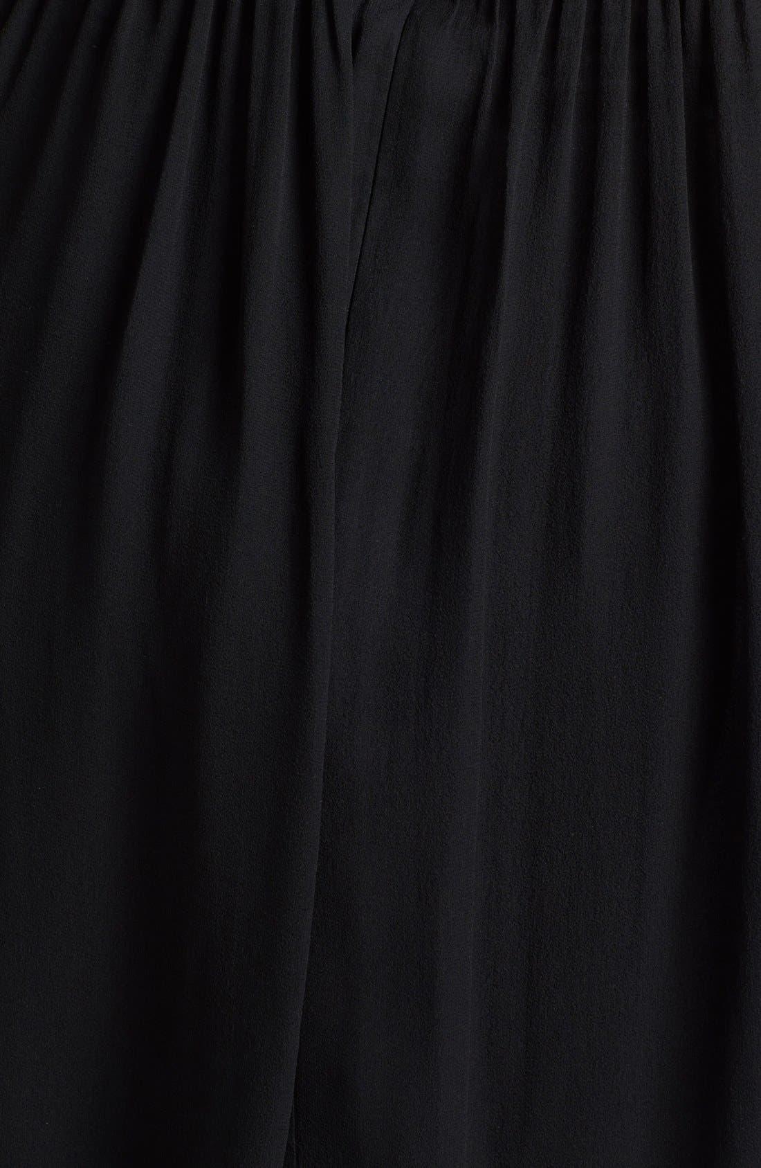 'Morgan' Strapless Silk Chiffon Dress,                             Alternate thumbnail 41, color,