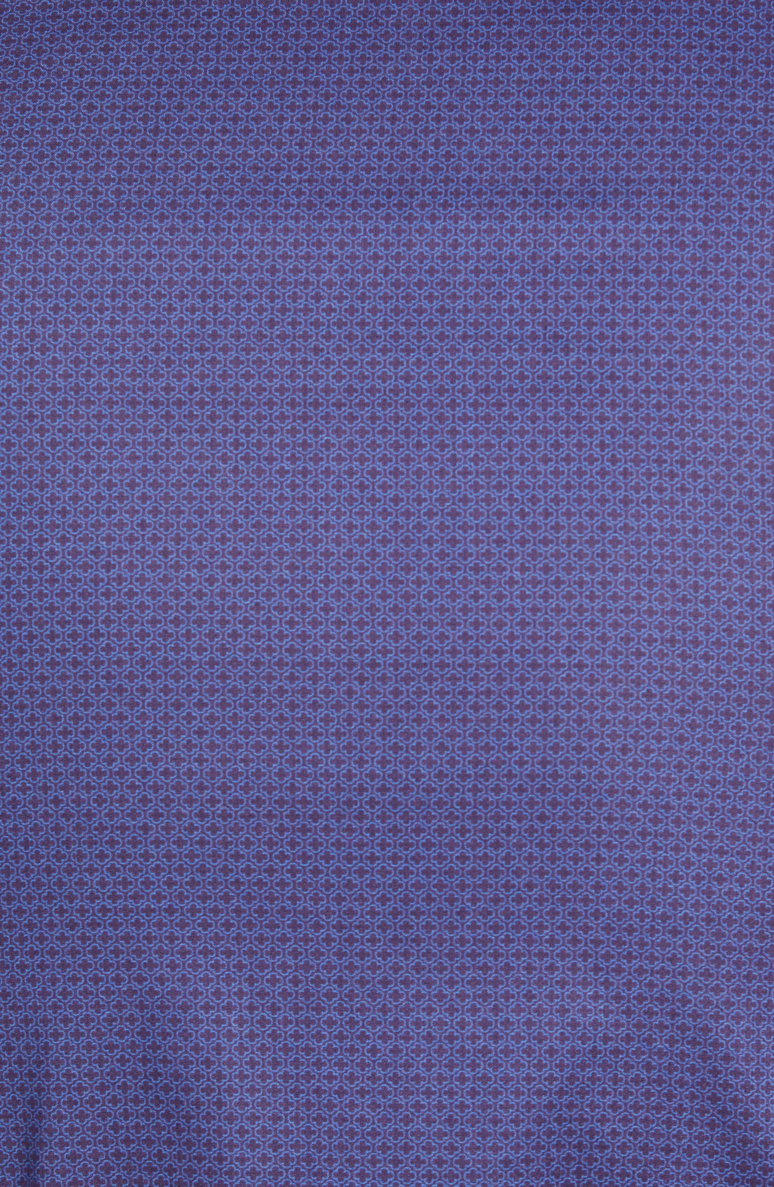 Avellan Regular Fit Sport Shirt,                             Alternate thumbnail 5, color,                             BLUE