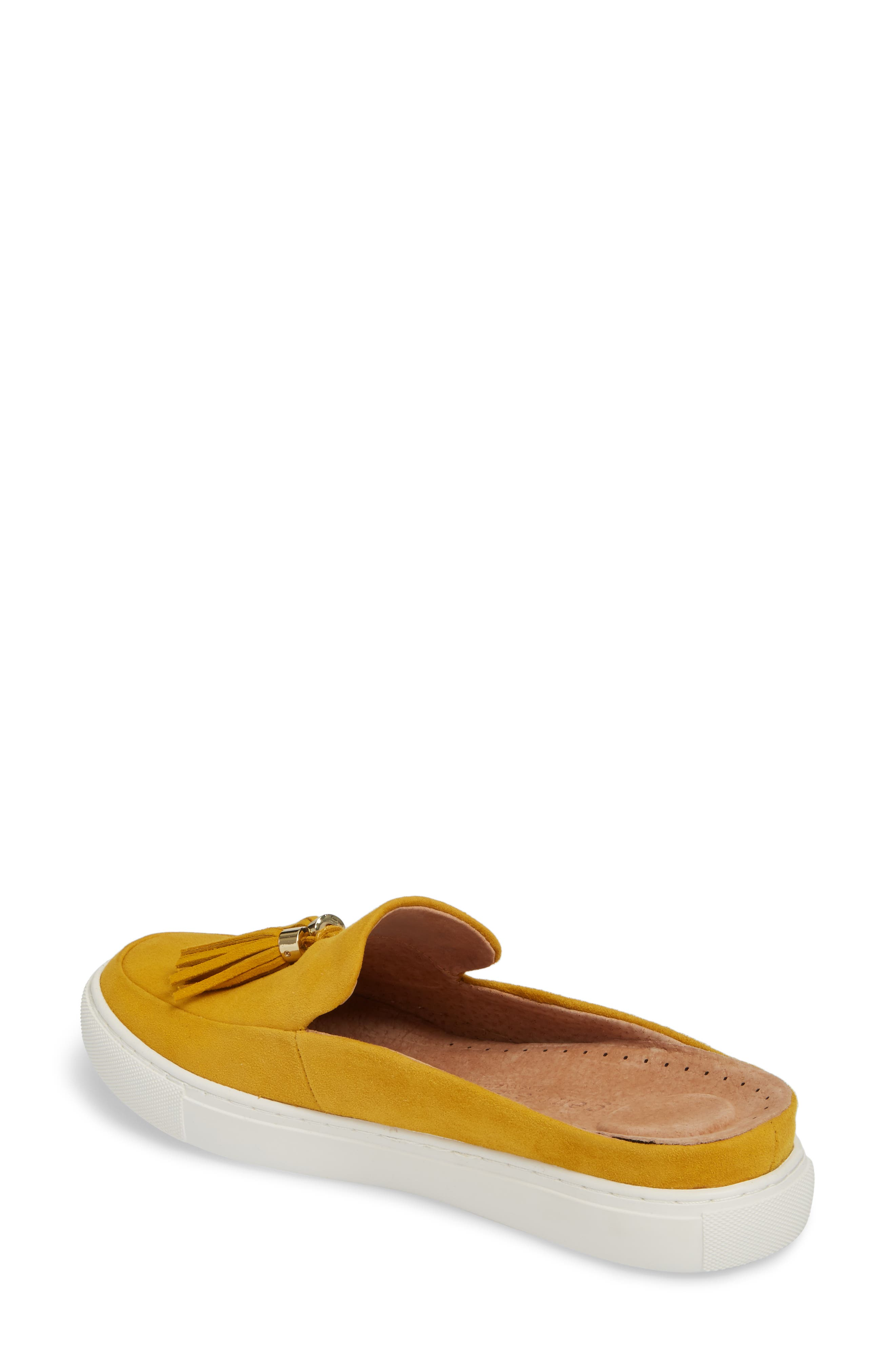by Kenneth Cole Rory Loafer Mule Sneaker,                             Alternate thumbnail 2, color,                             MARIGOLD SUEDE