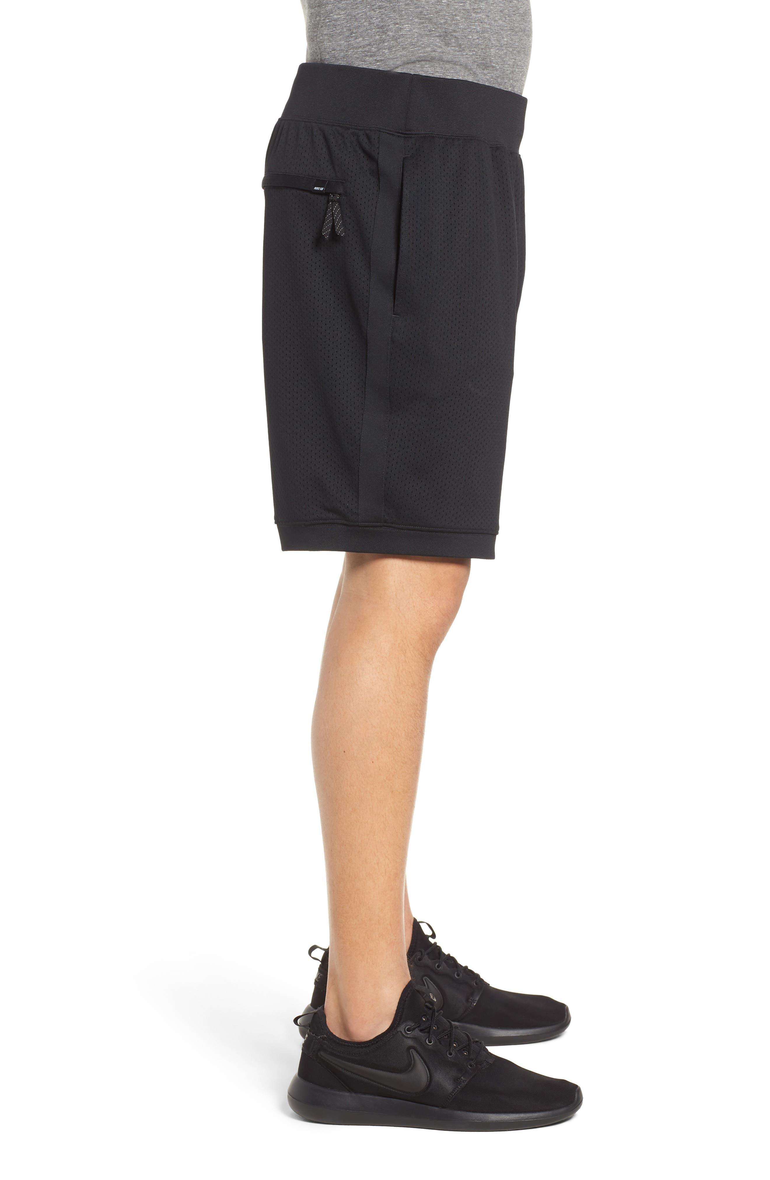 SB Dry Heritage Court Shorts,                             Alternate thumbnail 3, color,                             010