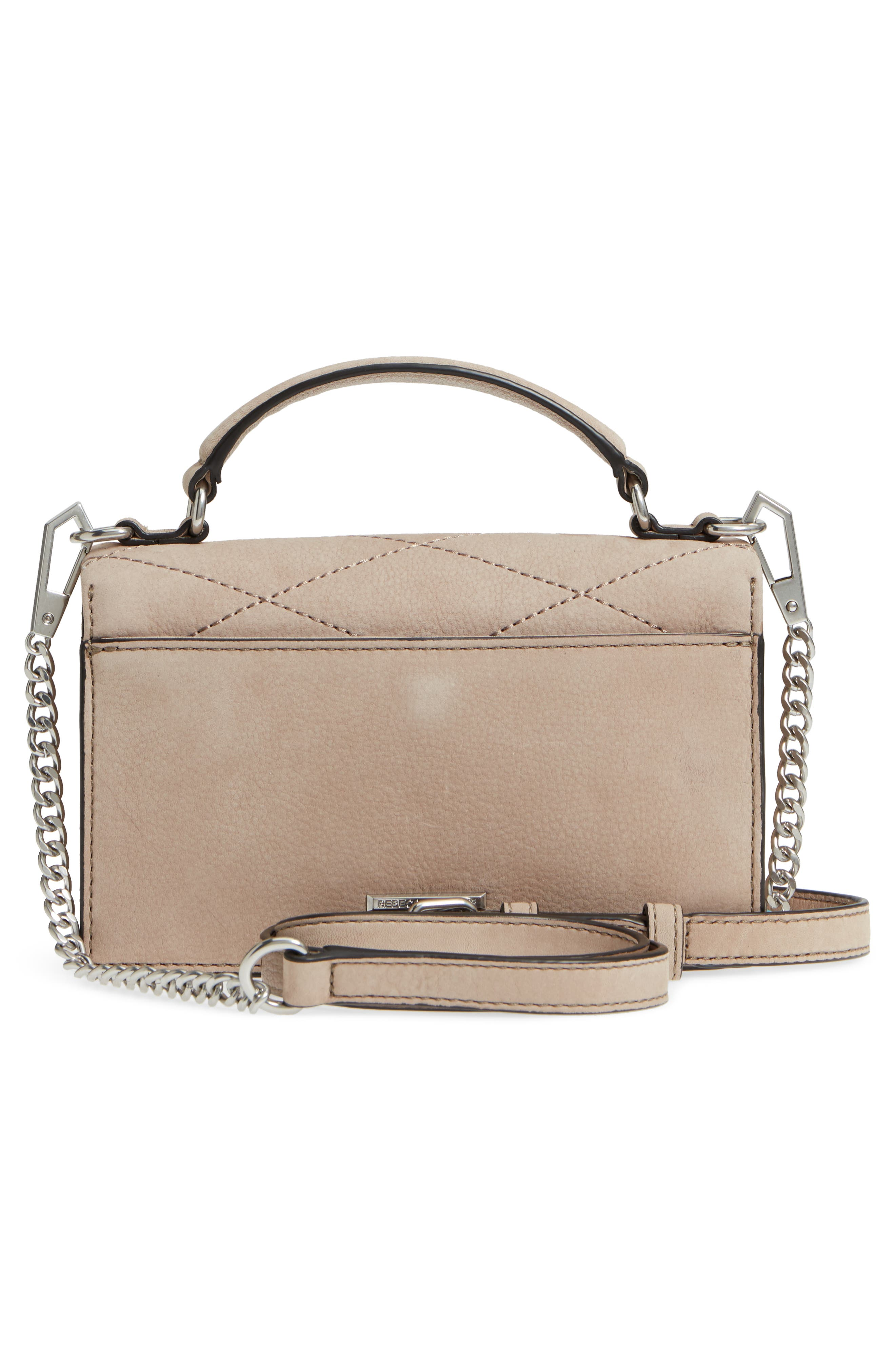 Small Je T'aime Leather Crossbody Bag,                             Alternate thumbnail 3, color,                             265