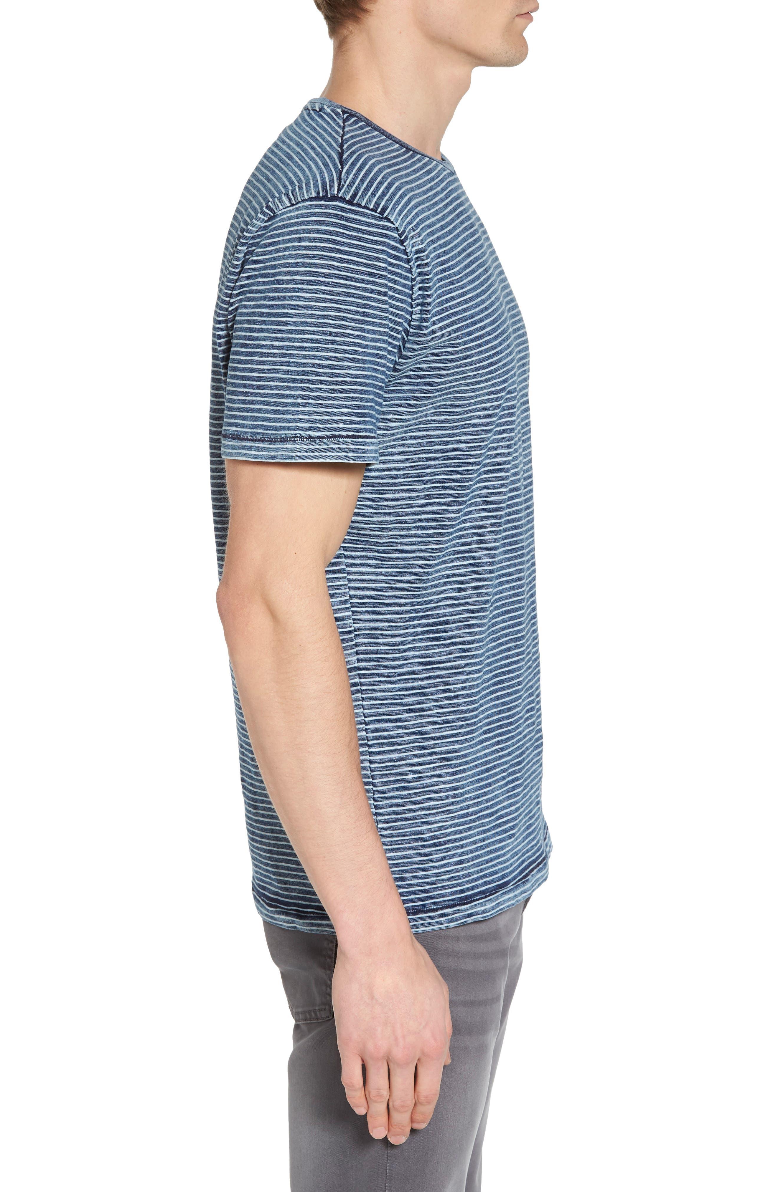 Julian Slim Fit Crewneck Shirt,                             Alternate thumbnail 9, color,