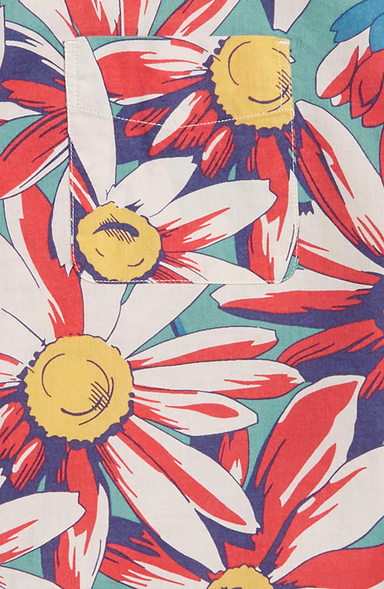 Secret Wash Crazy Daisy Shirt,                             Alternate thumbnail 2, color,                             300