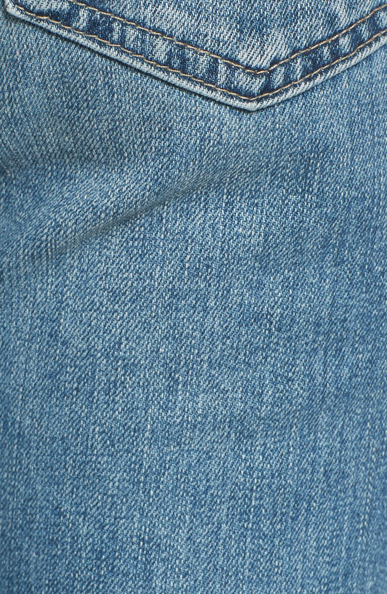 Jodi Crop Flare Jeans,                             Alternate thumbnail 6, color,