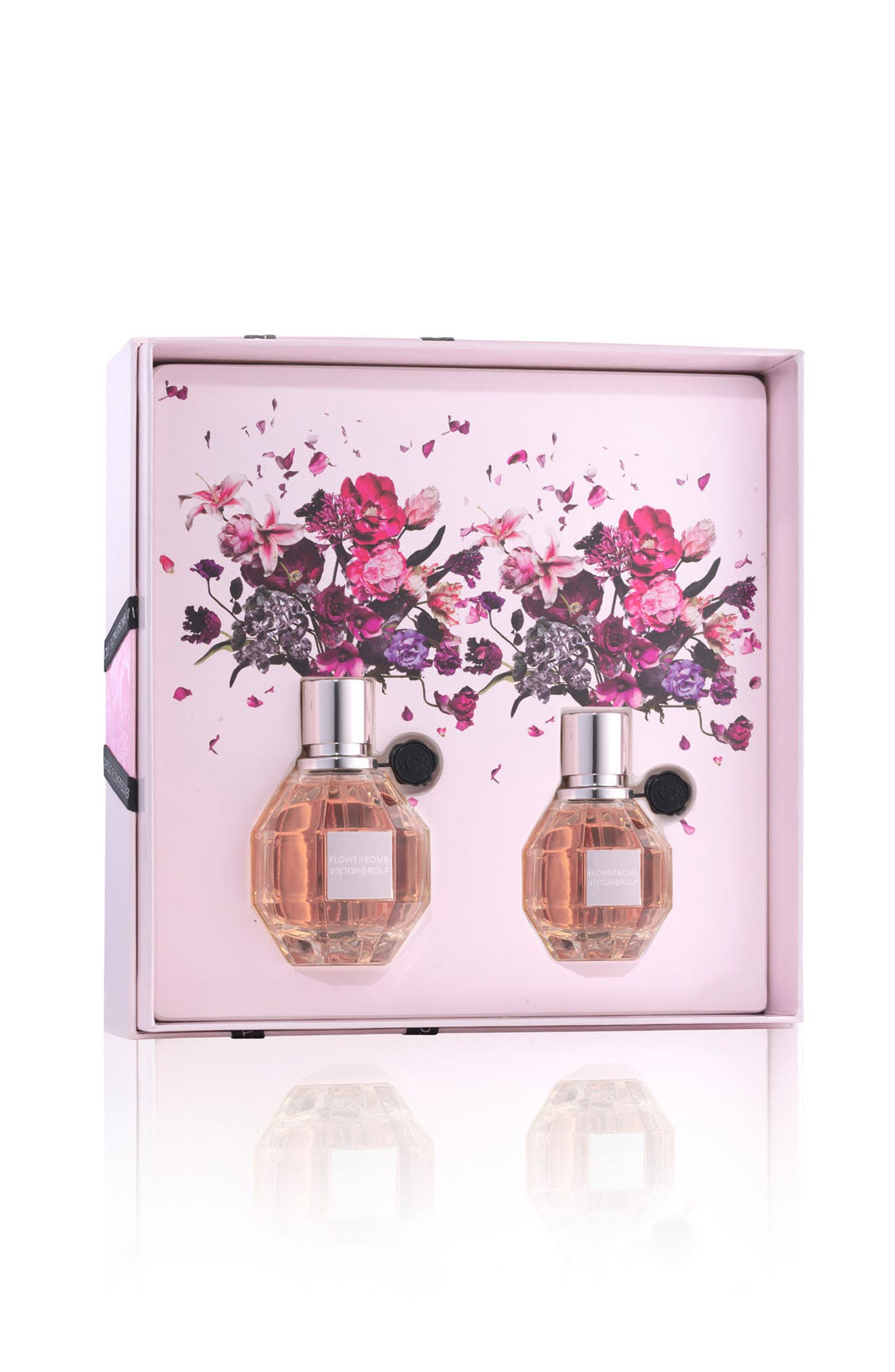Flowerbomb Eau de Parfum Set,                             Alternate thumbnail 2, color,                             000