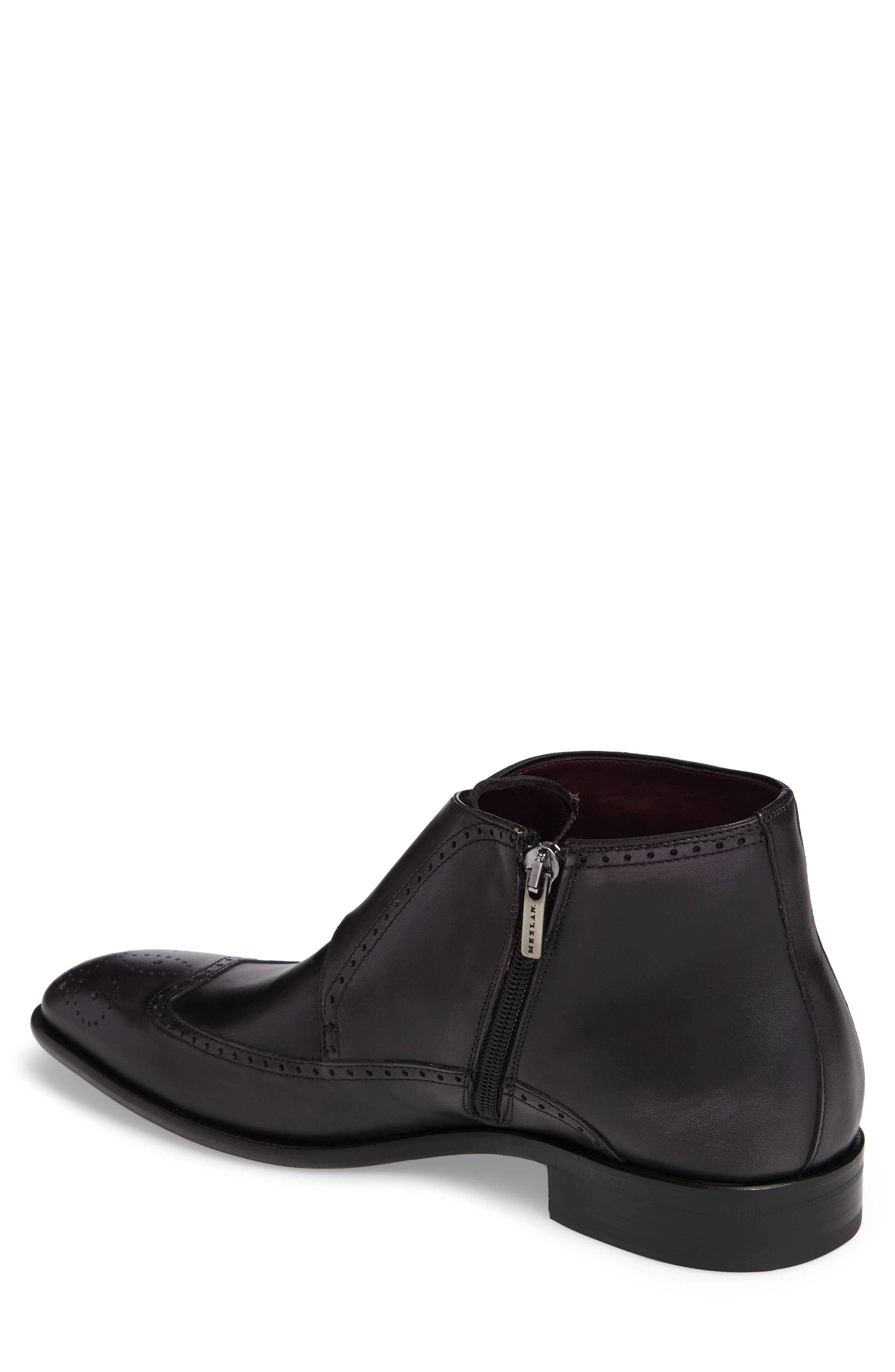 Taberna Double Monk Strap Boot,                             Alternate thumbnail 2, color,                             GRAPHITE LEATHER