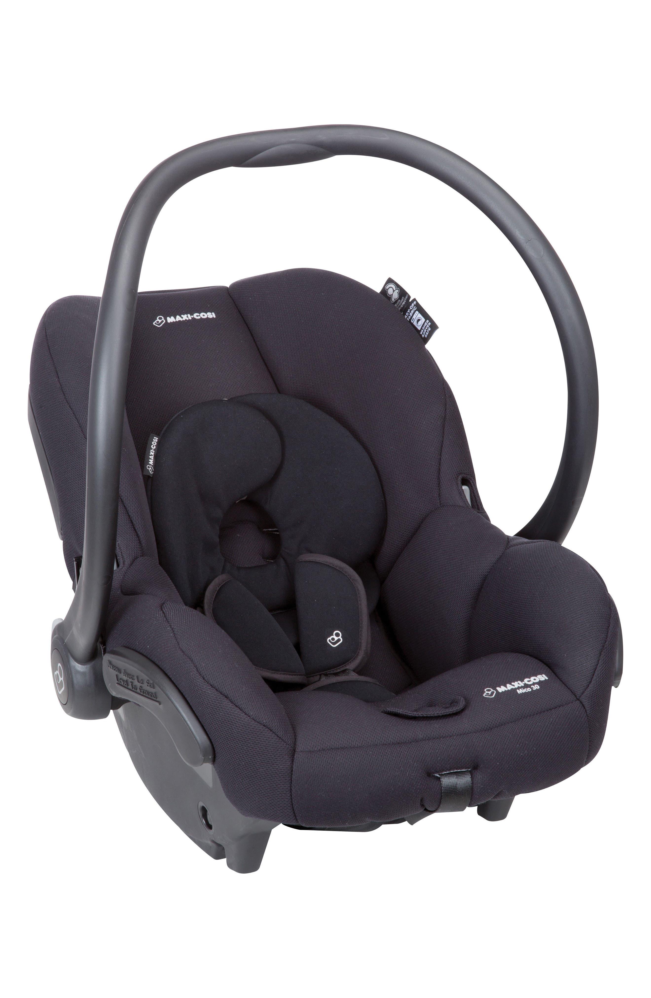 Mico 30 Infant Car Seat,                             Alternate thumbnail 2, color,                             NIGHT BLACK