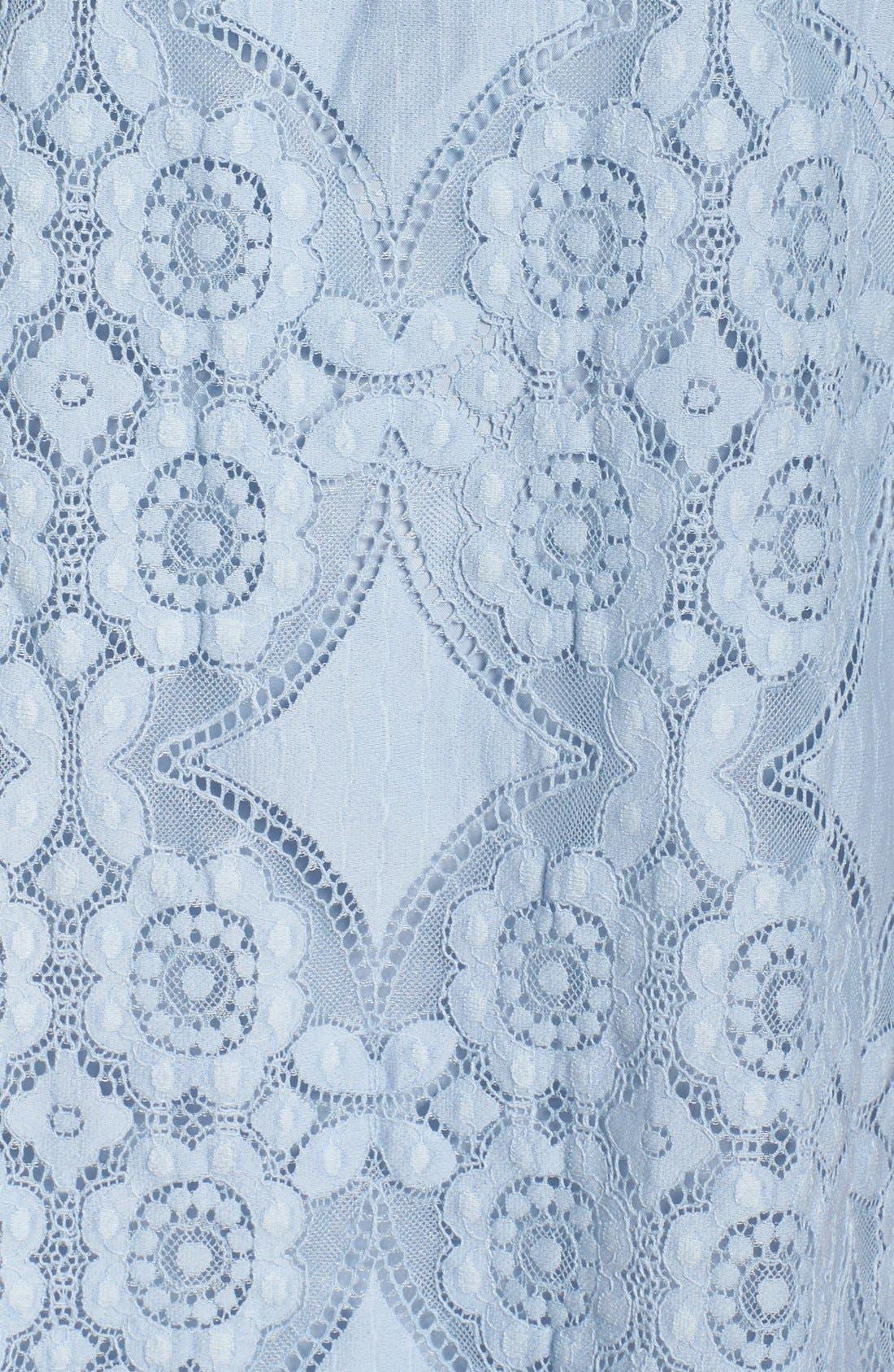 Halden A-Line Dress,                             Alternate thumbnail 6, color,                             460