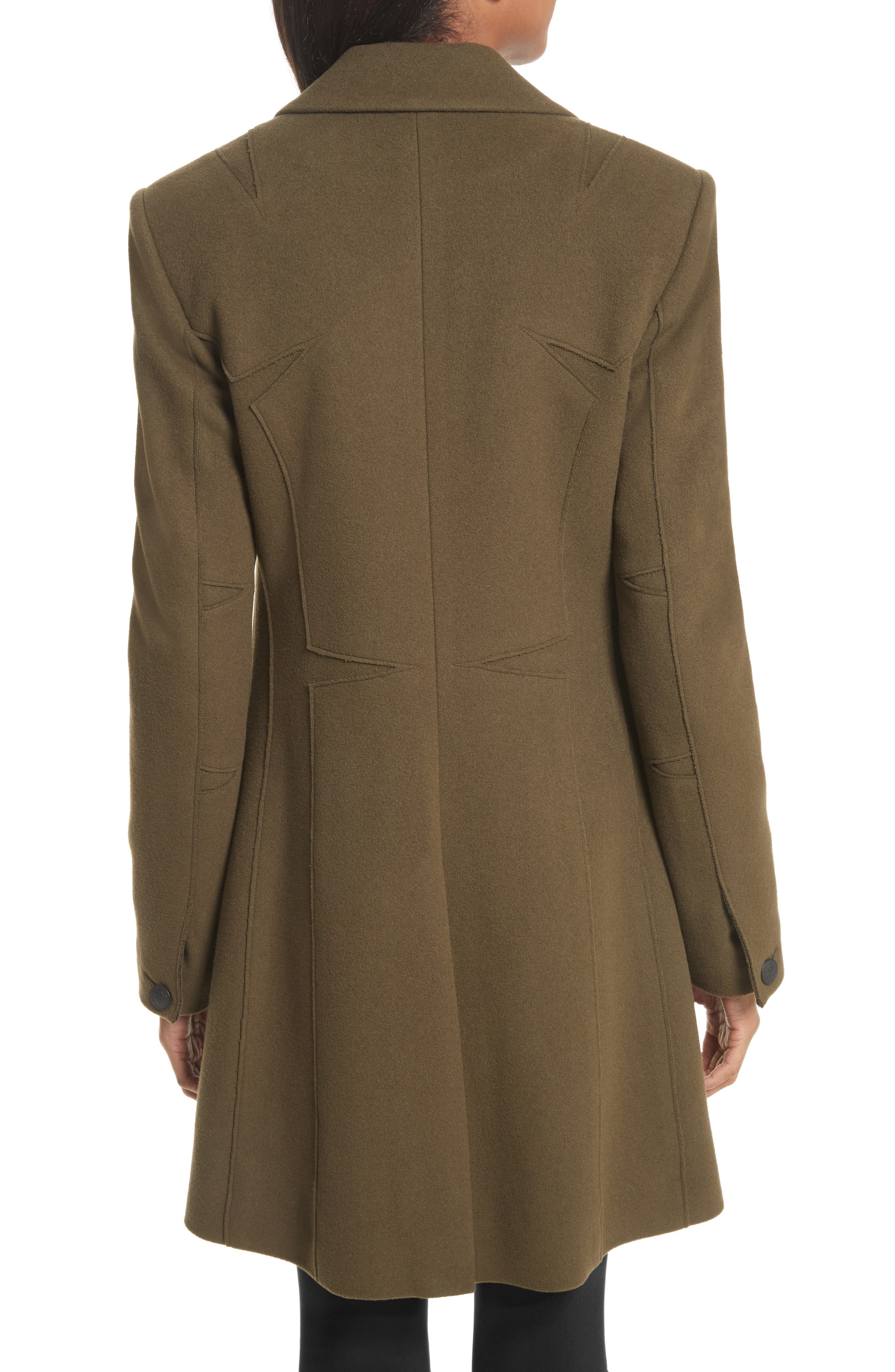 Duchess Wool Blend Coat,                             Alternate thumbnail 2, color,                             325