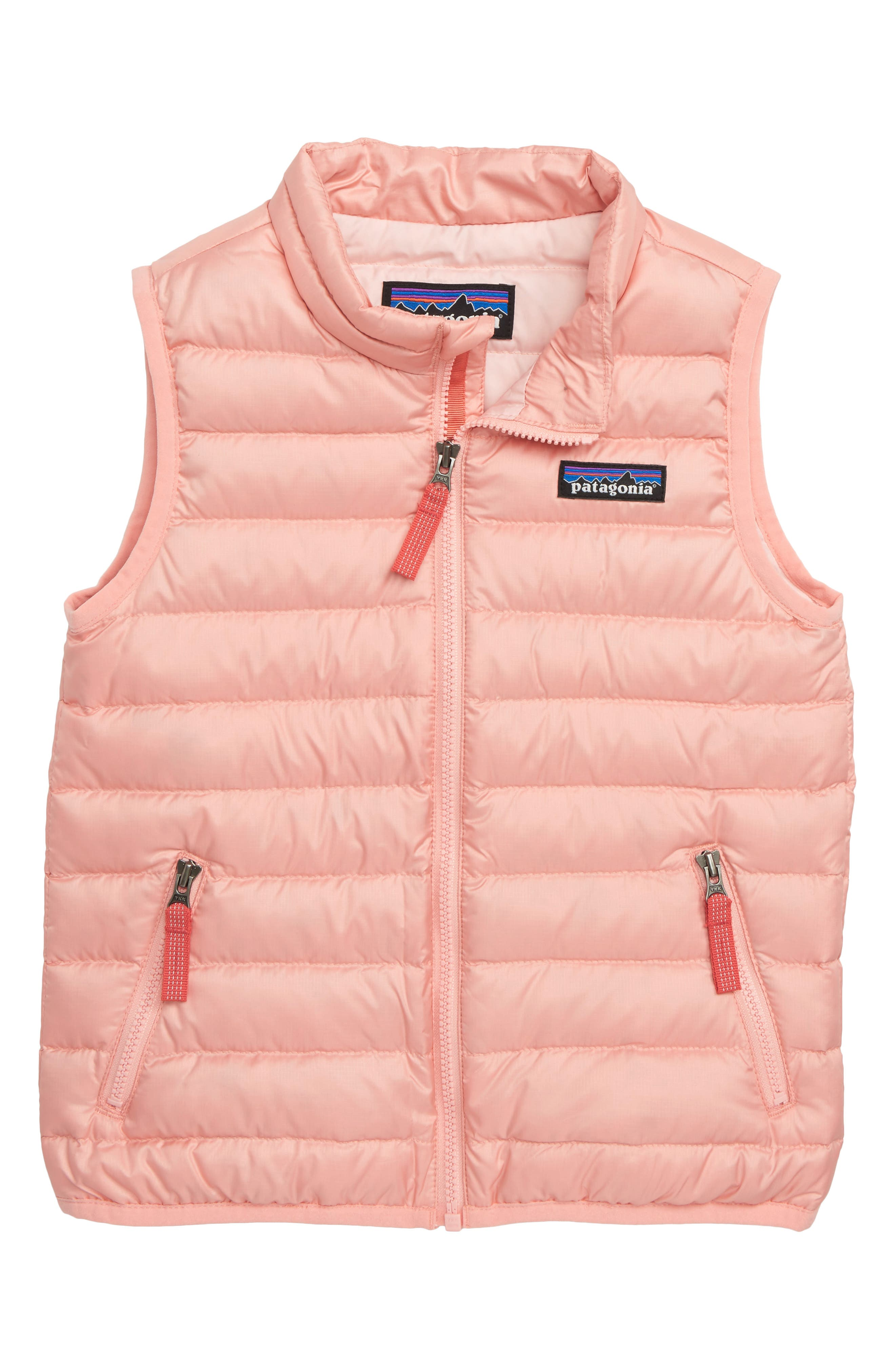 600-Fill Down Sweater Vest,                         Main,                         color, MINERAL PINK