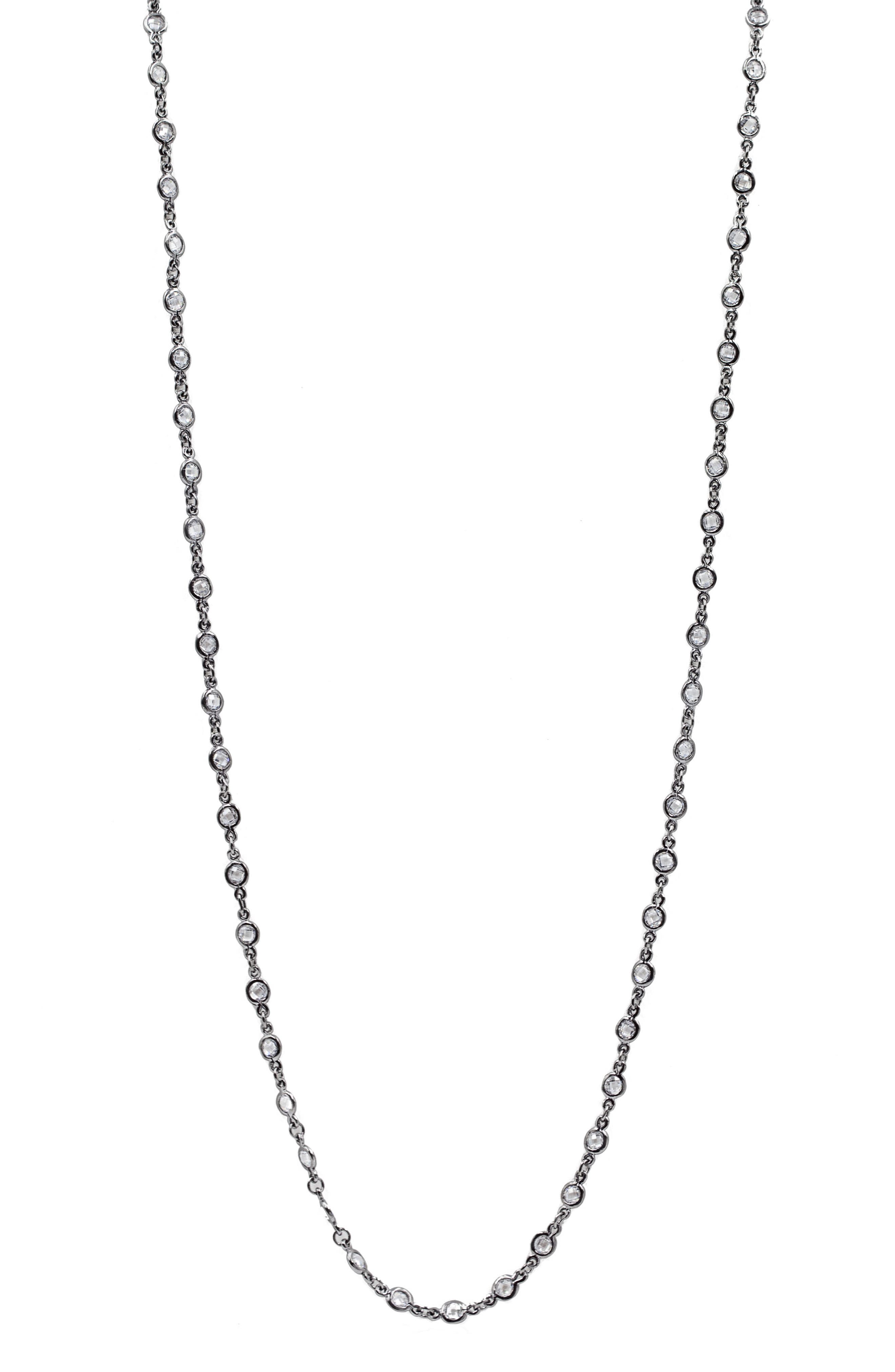 Signature Radiance Necklace,                             Alternate thumbnail 2, color,                             001