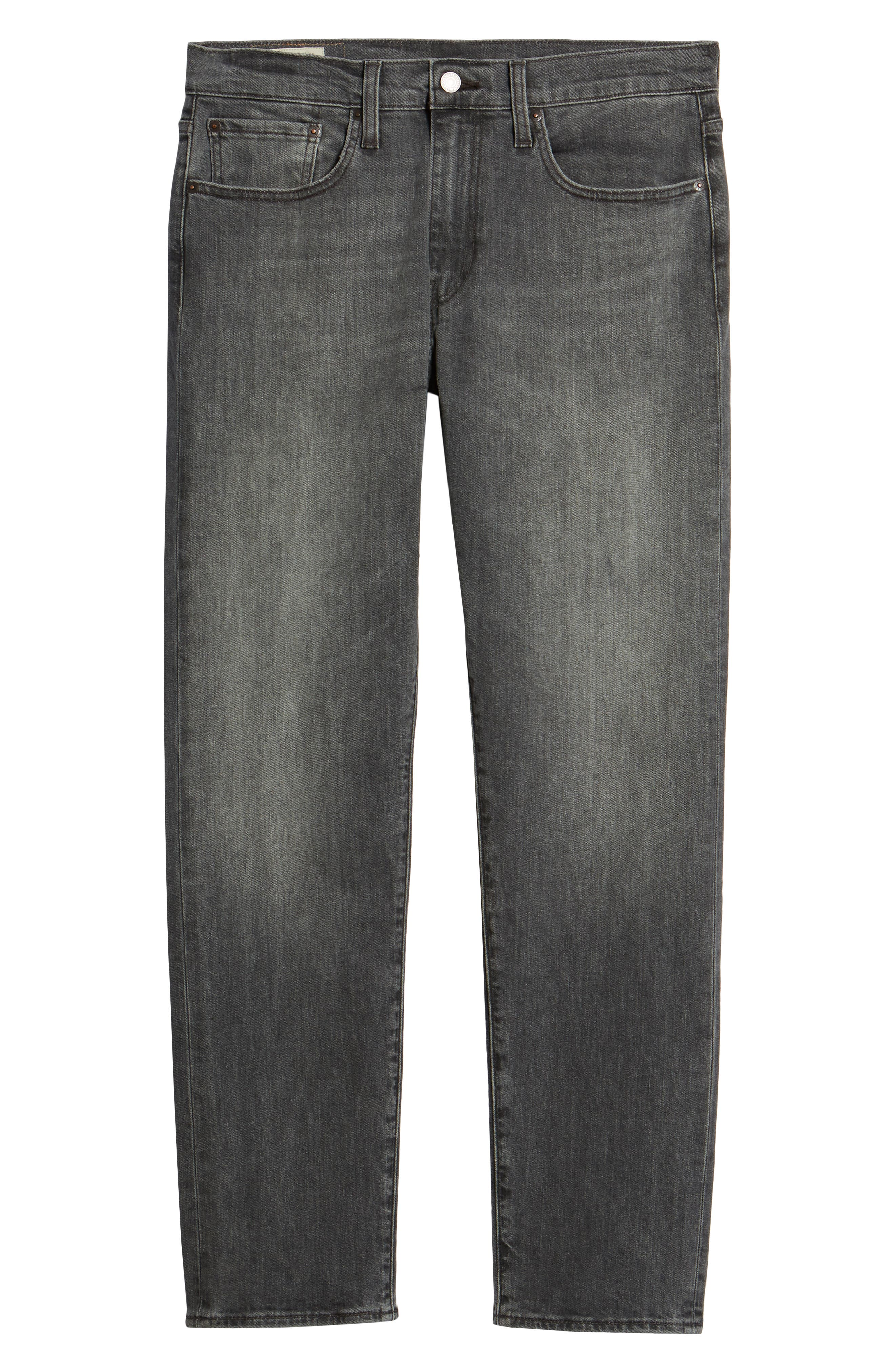 502<sup>™</sup> Slouchy Slim Fit Jeans,                             Alternate thumbnail 6, color,                             GREY WASH