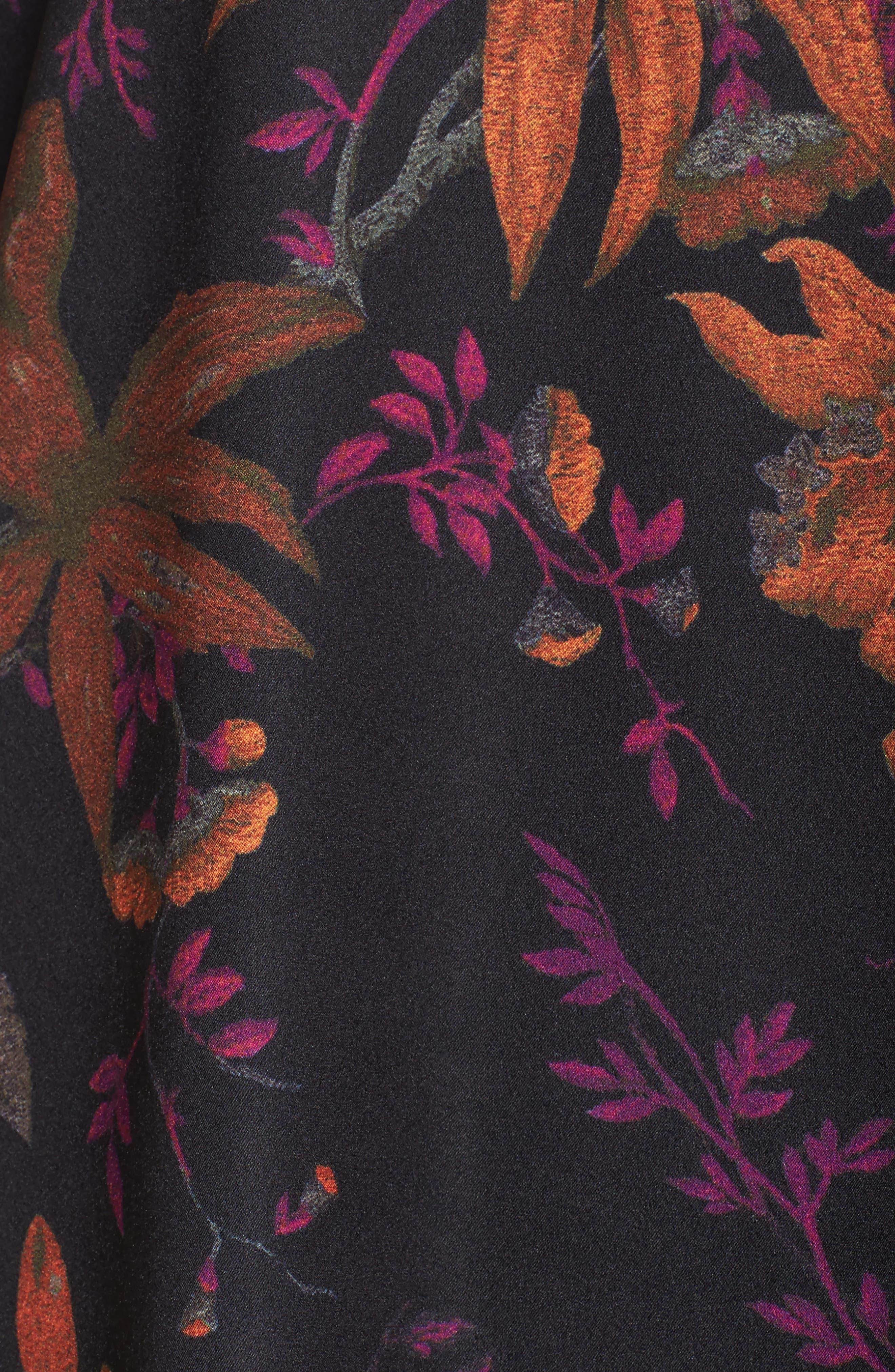Primrose Bell Sleeve Dress,                             Alternate thumbnail 5, color,                             665