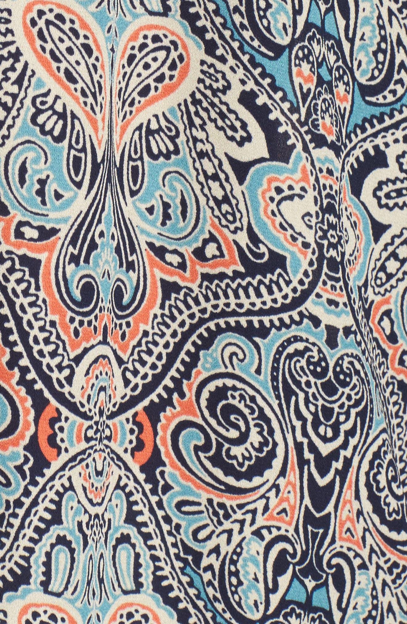 Julina Cold Shoulder Top,                             Alternate thumbnail 5, color,