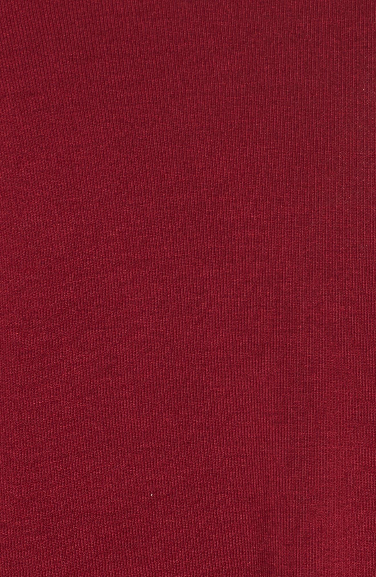 Off the Shoulder Knit A-Line Dress,                             Alternate thumbnail 5, color,                             600