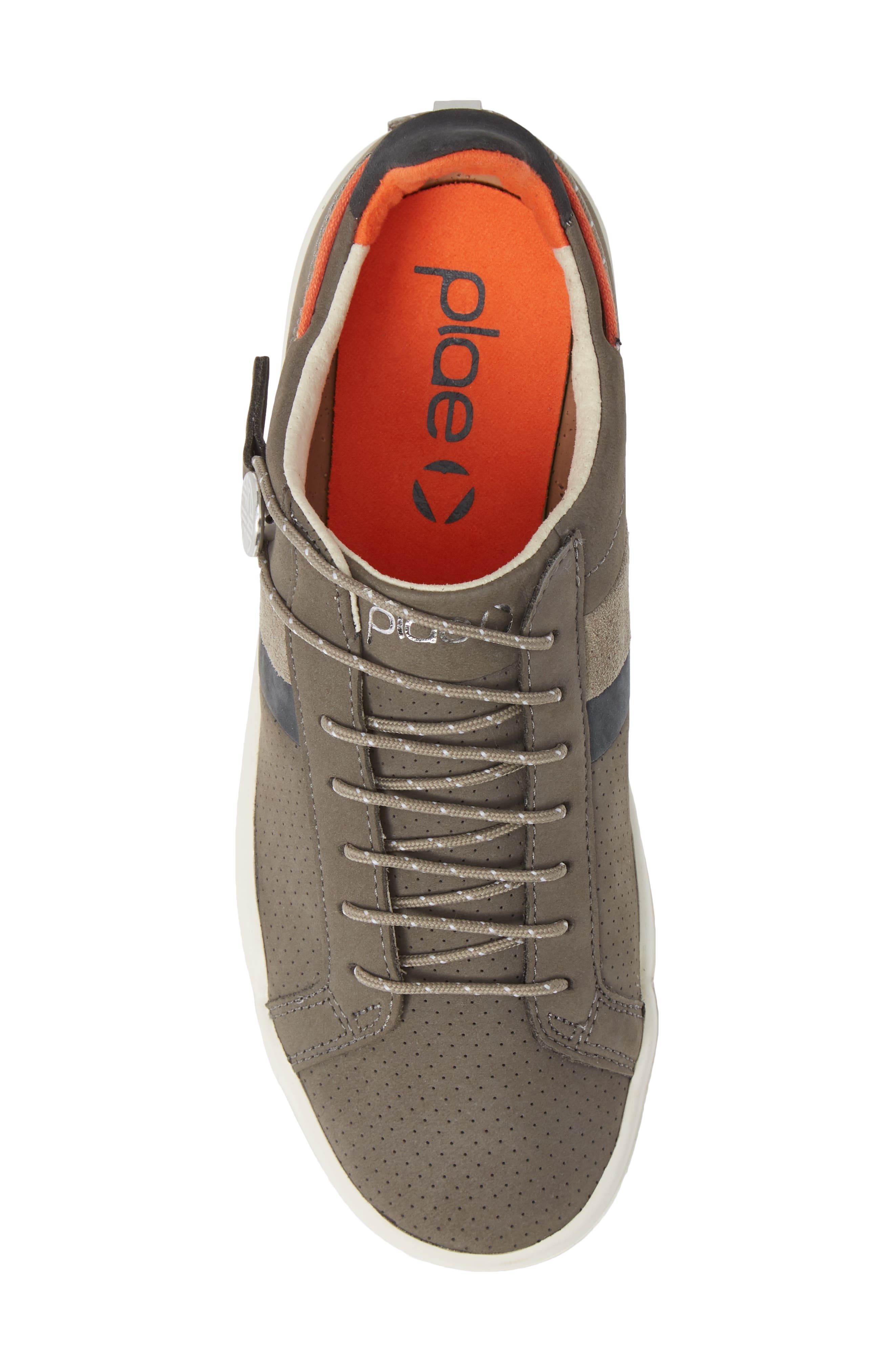 Mulberry Sneaker,                             Alternate thumbnail 5, color,                             GREY NUBUCK LEATHER