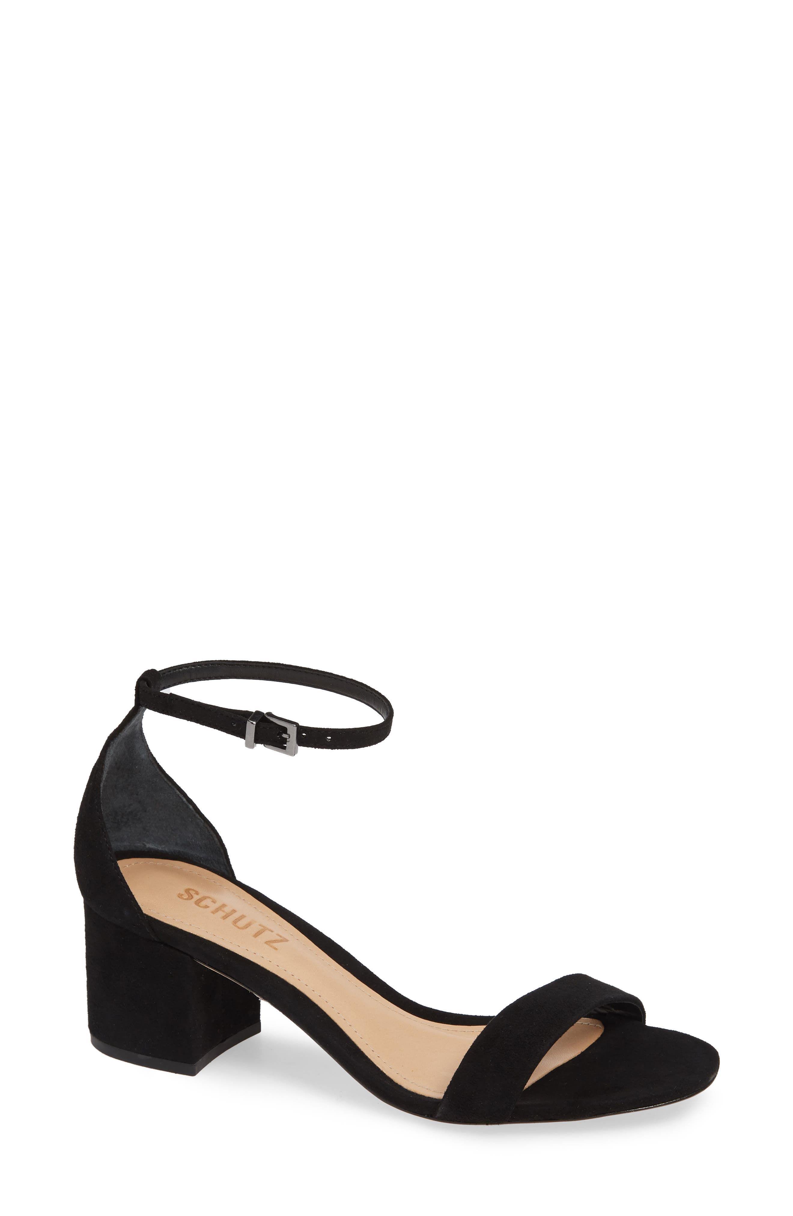 Chimes Ankle Strap Sandal,                         Main,                         color, 001
