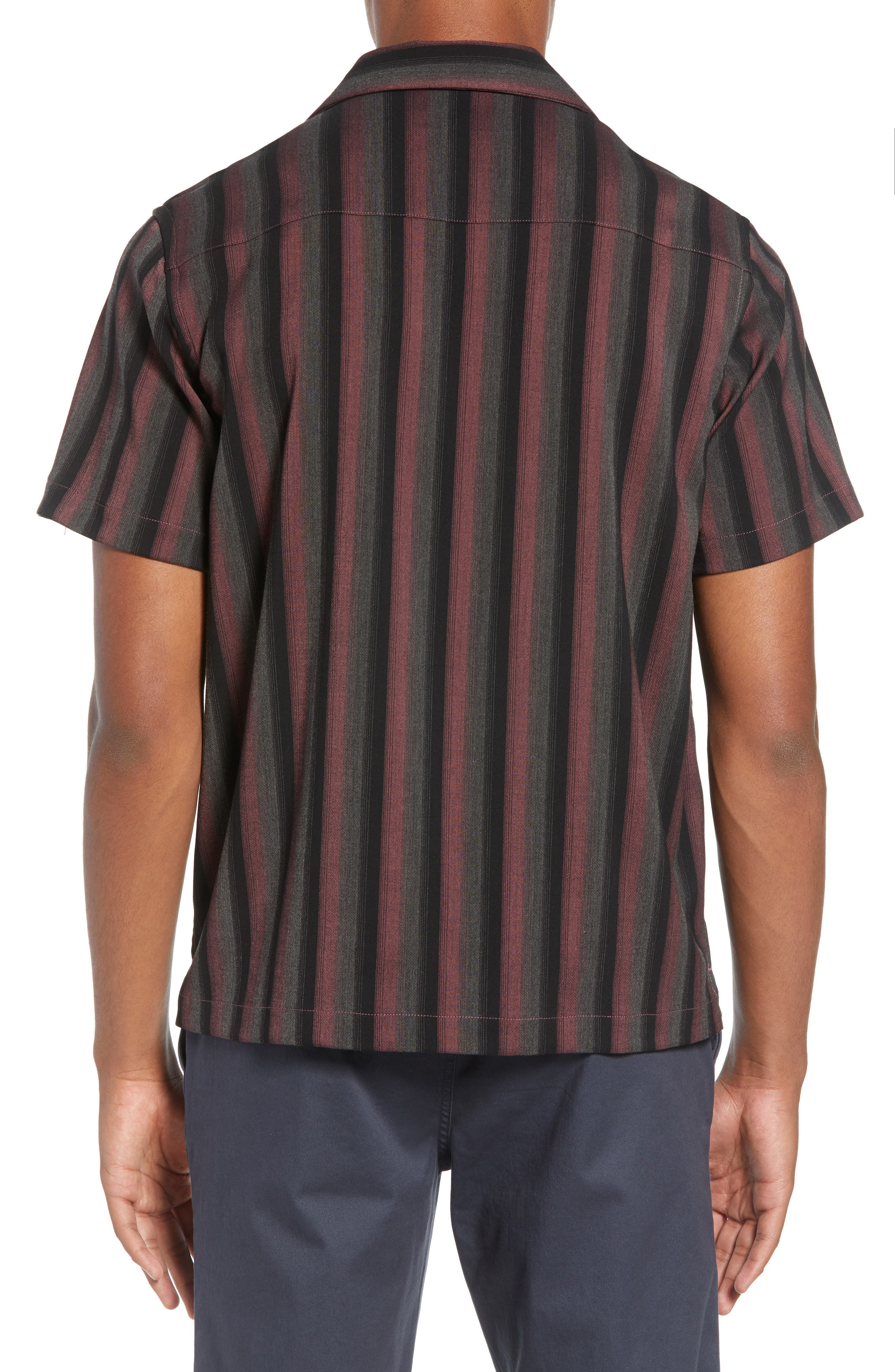 Canty Frequency Camp Shirt,                             Alternate thumbnail 3, color,                             650