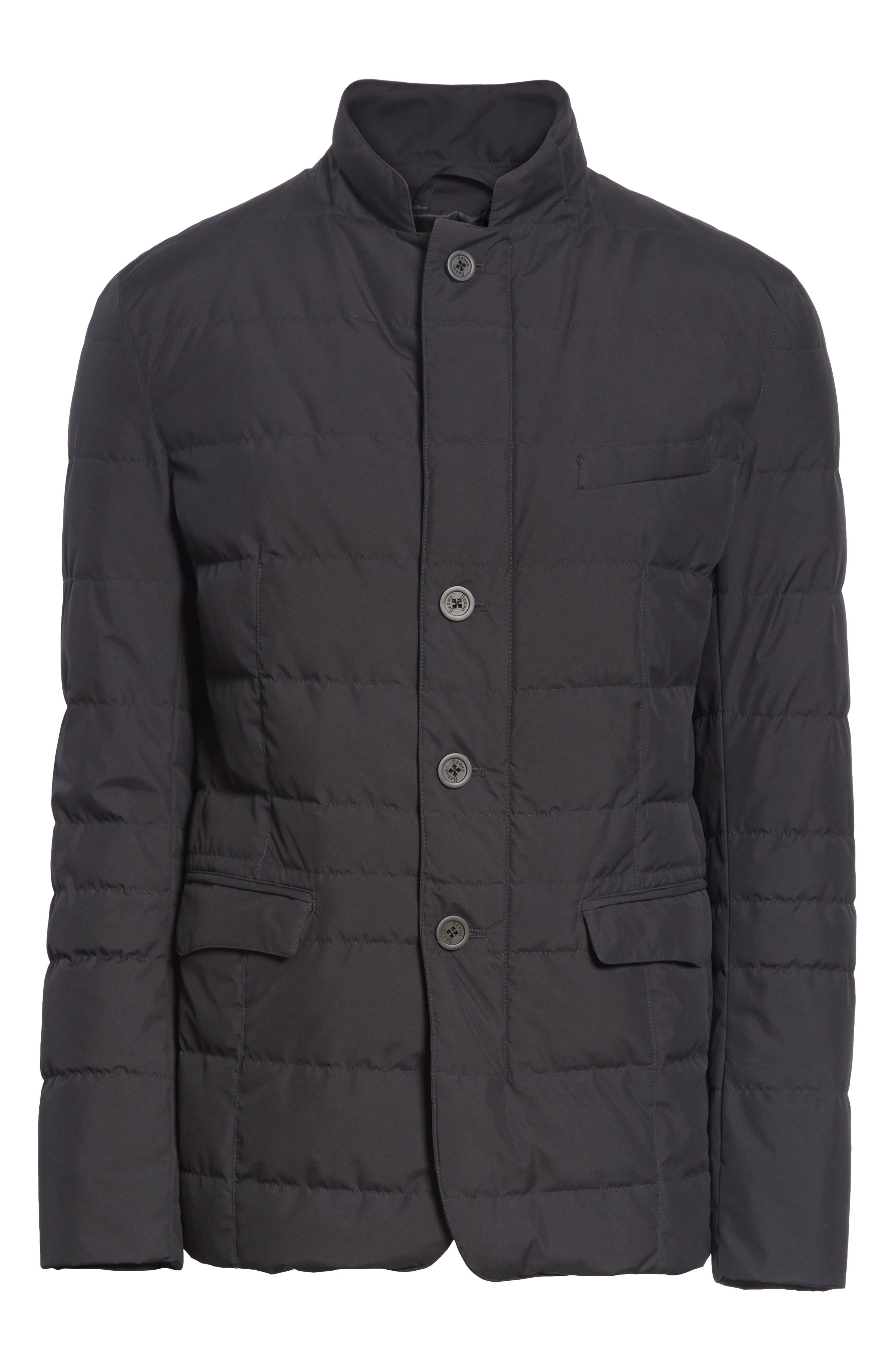 Gore-Tex<sup>®</sup> Windstopper Down Jacket,                             Alternate thumbnail 5, color,                             001