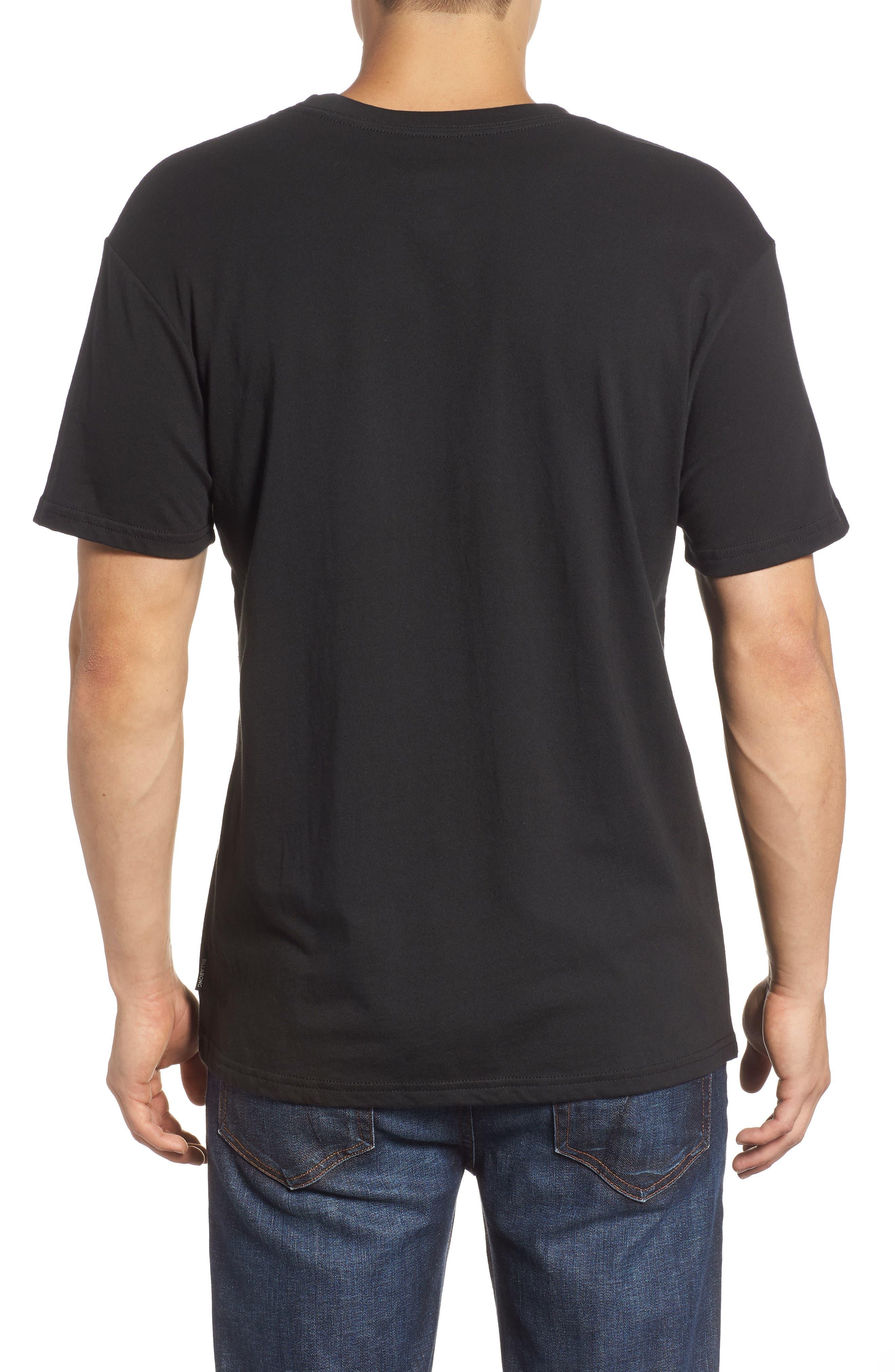 Access Graphic T-Shirt,                             Alternate thumbnail 2, color,                             BLACK