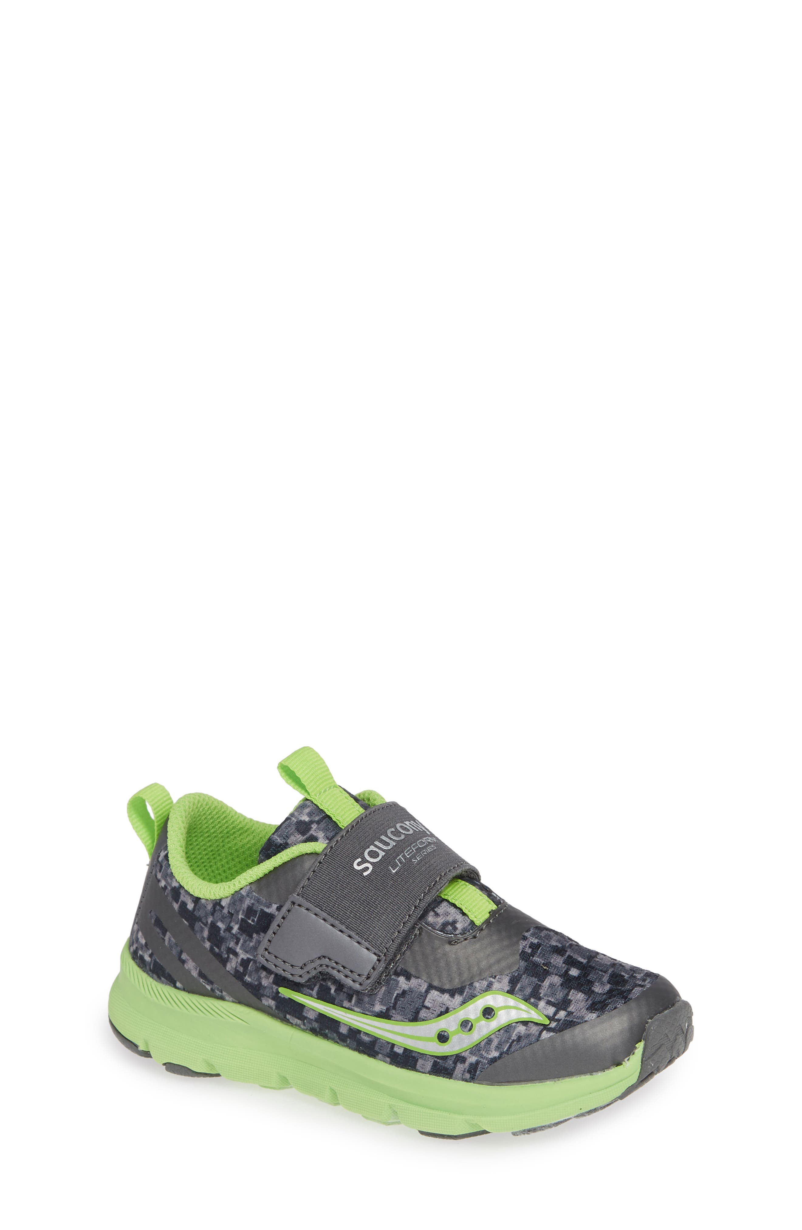 Baby Liteform Sneaker,                             Main thumbnail 1, color,                             GREY/ GREEN