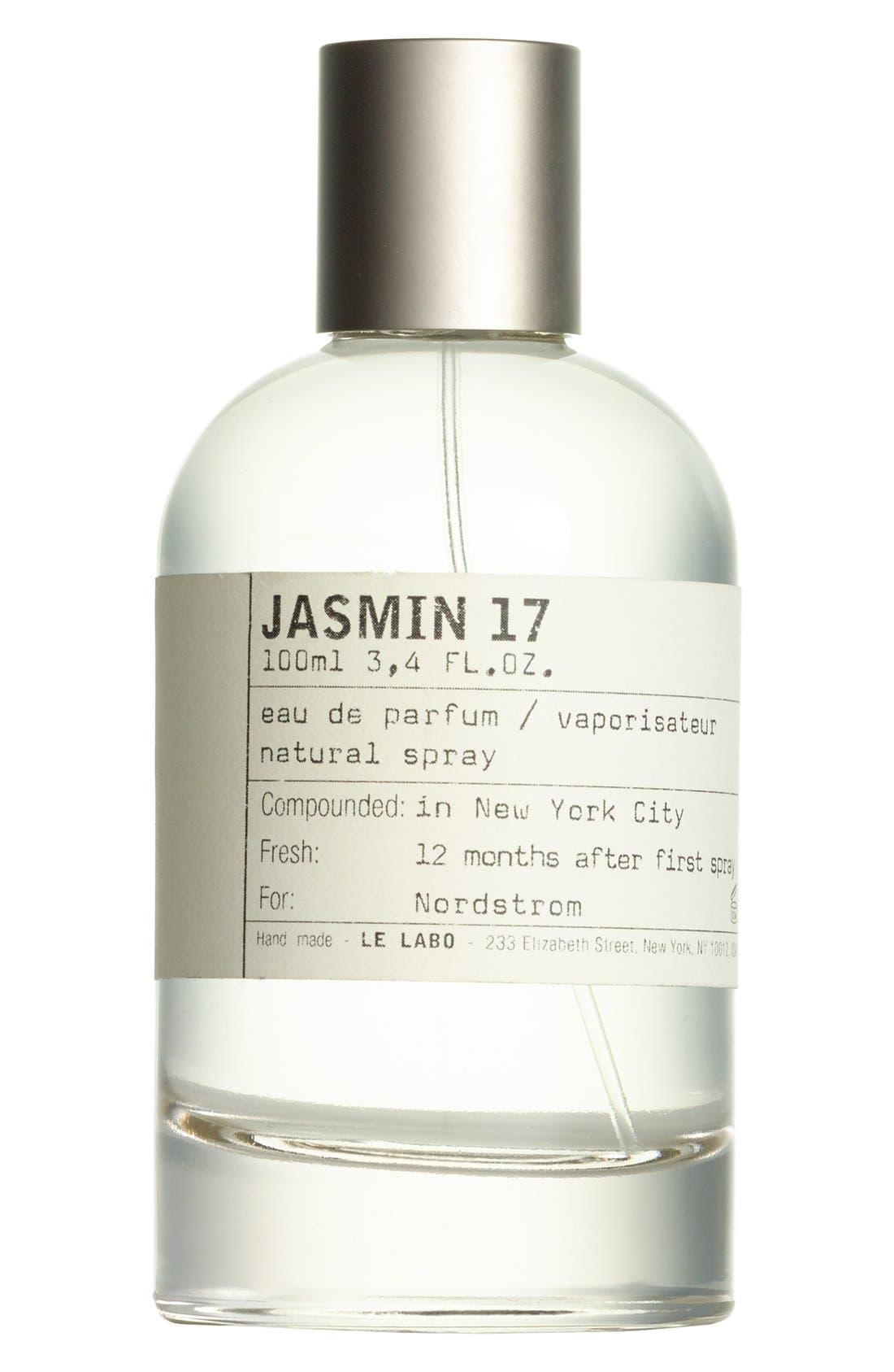 'Jasmin 17' Eau de Parfum,                             Main thumbnail 1, color,                             NO COLOR