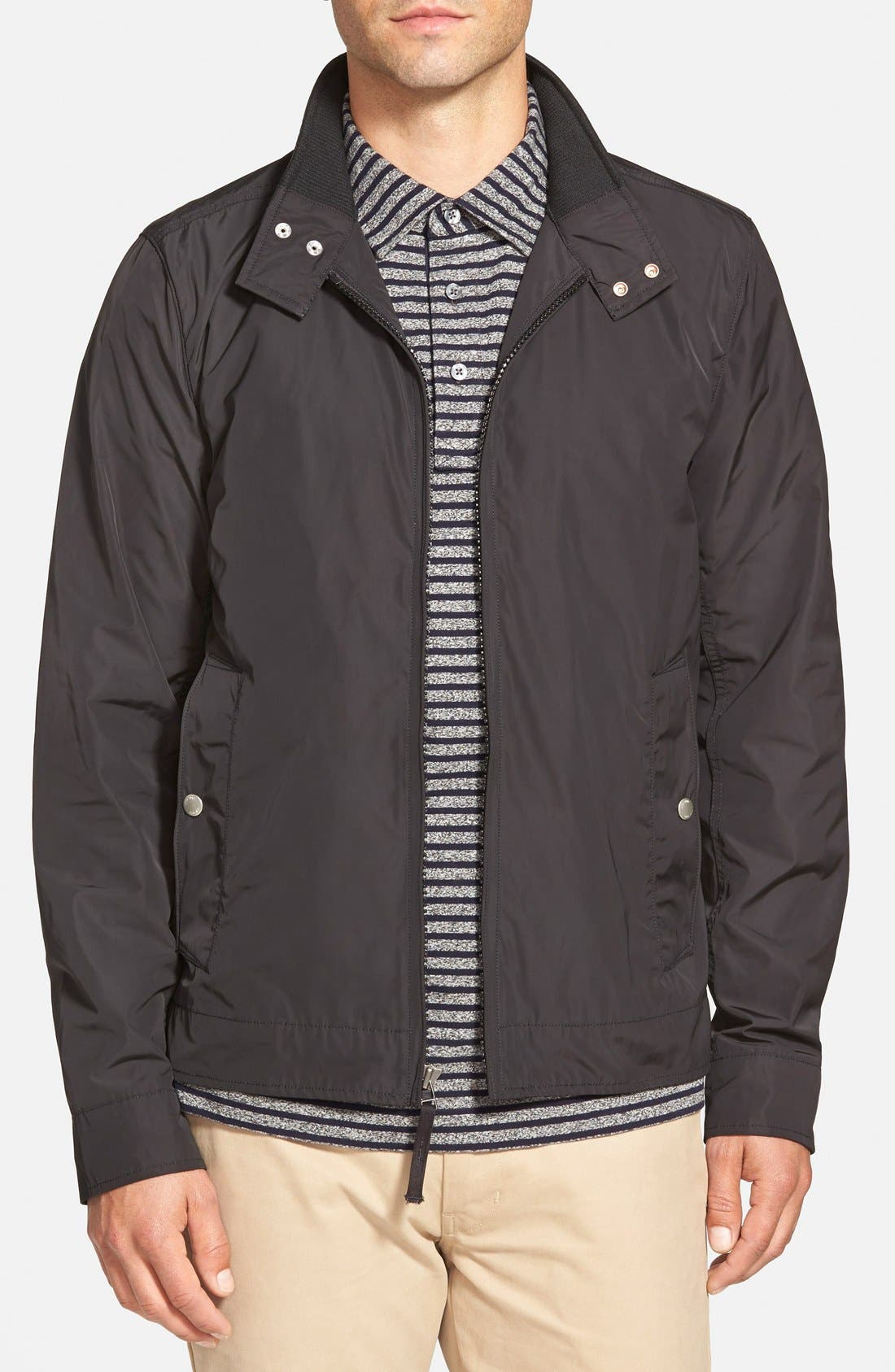 'Peyton' Packable Lightweight Jacket, Main, color, 001