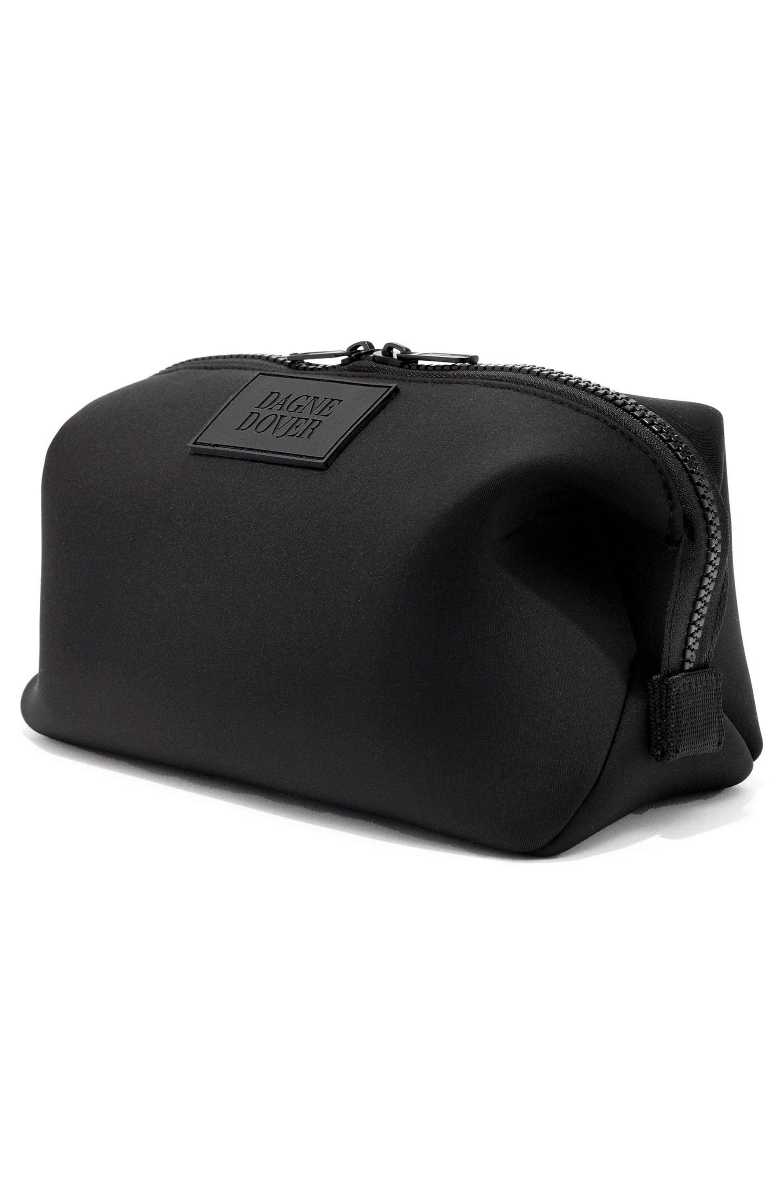 Large Hunter Neoprene Toiletry Bag,                             Alternate thumbnail 5, color,                             ONYX