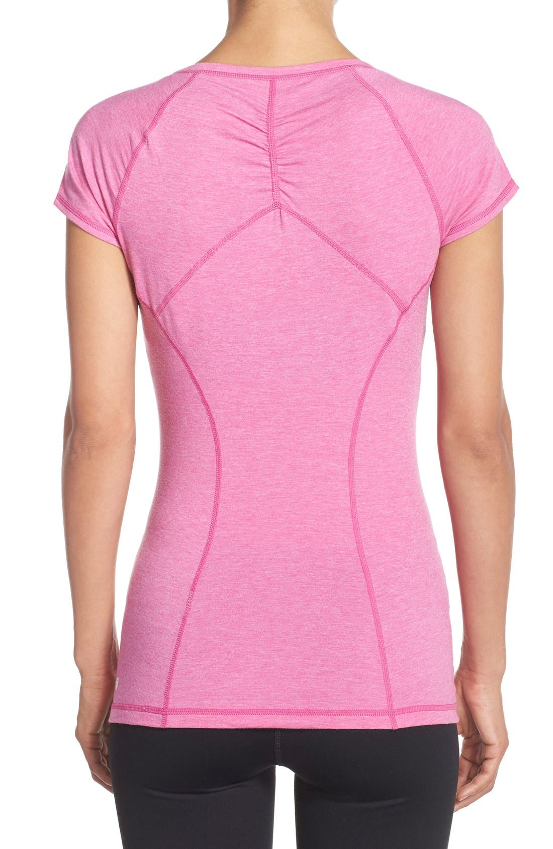 'Z 6' Ruched Tee,                             Alternate thumbnail 74, color,