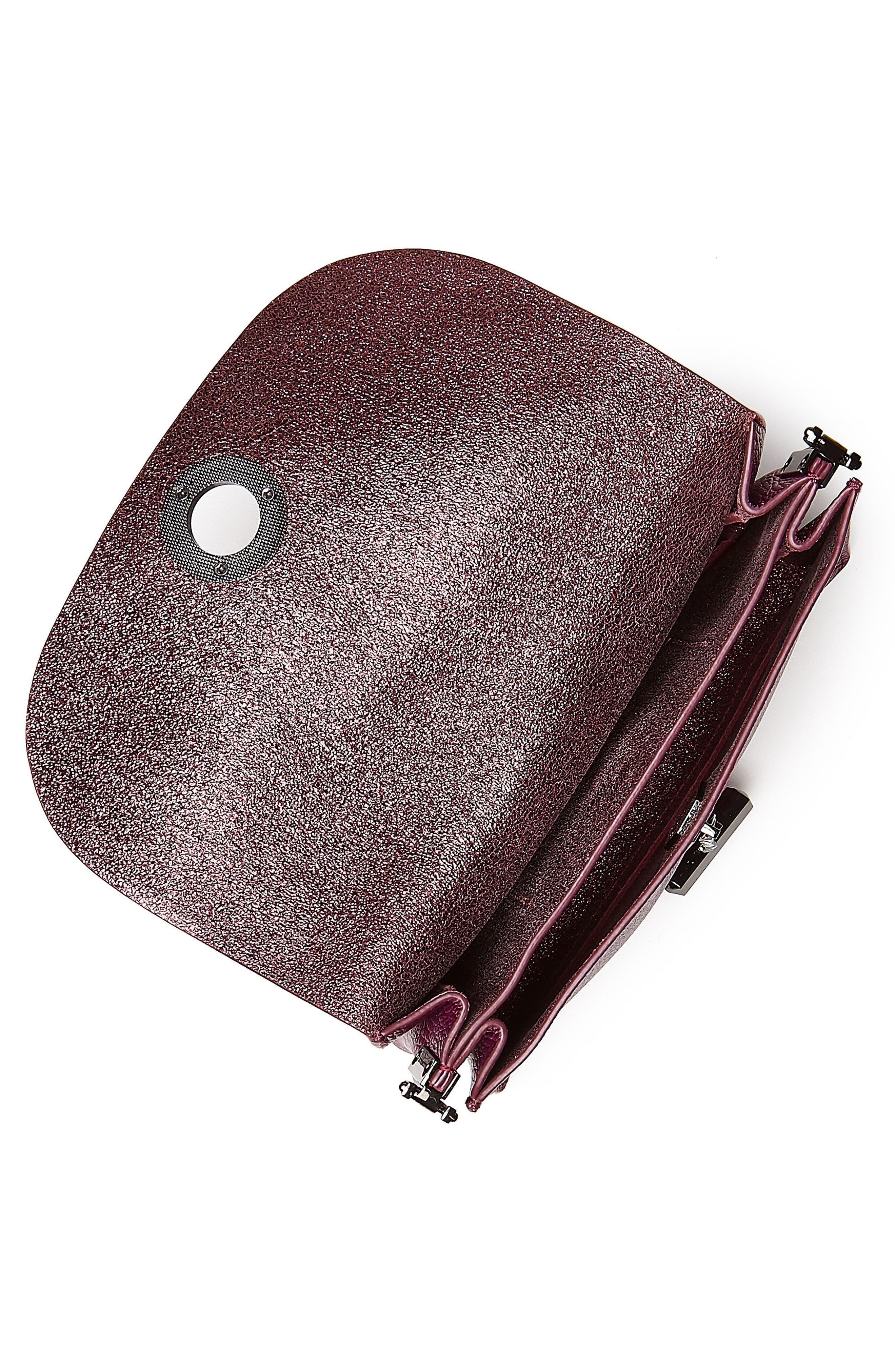 Waverly Leather Crossbody Bag,                             Alternate thumbnail 15, color,