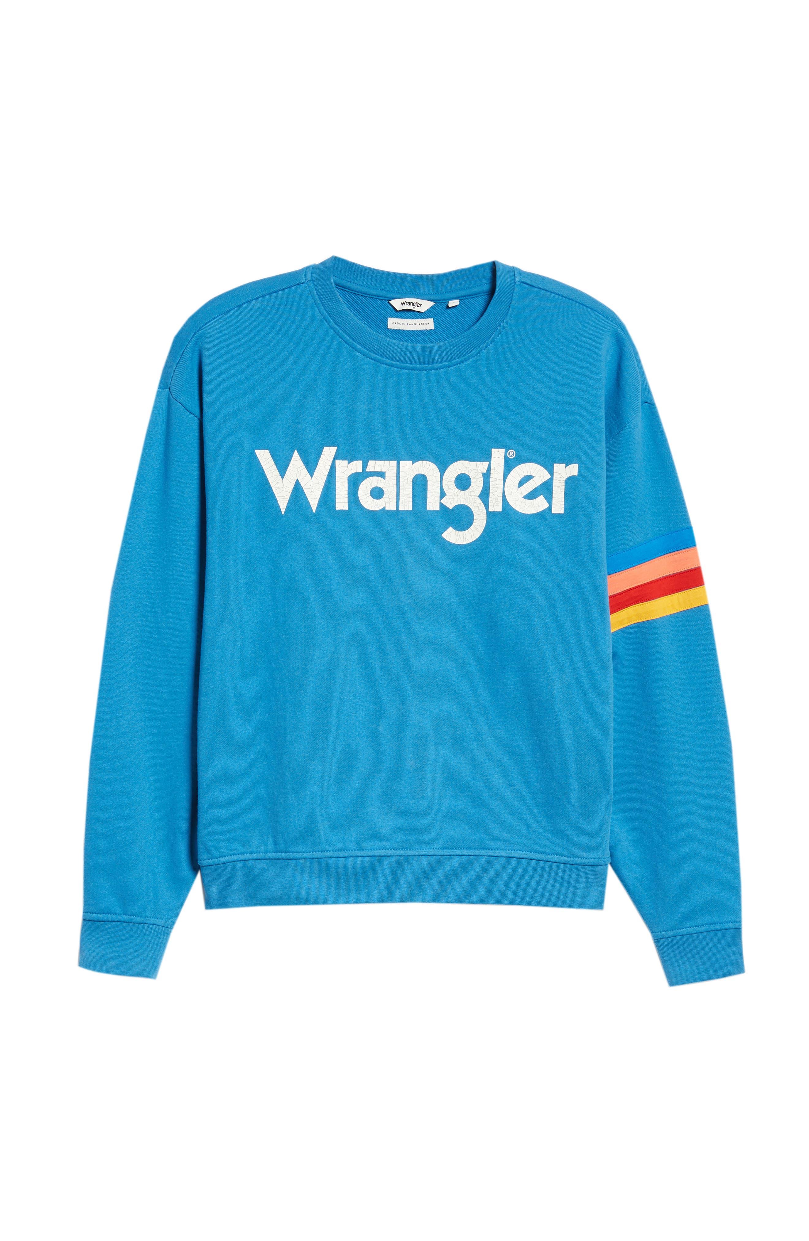 Kabel Graphic Sweatshirt,                             Alternate thumbnail 6, color,                             DEEP WATER