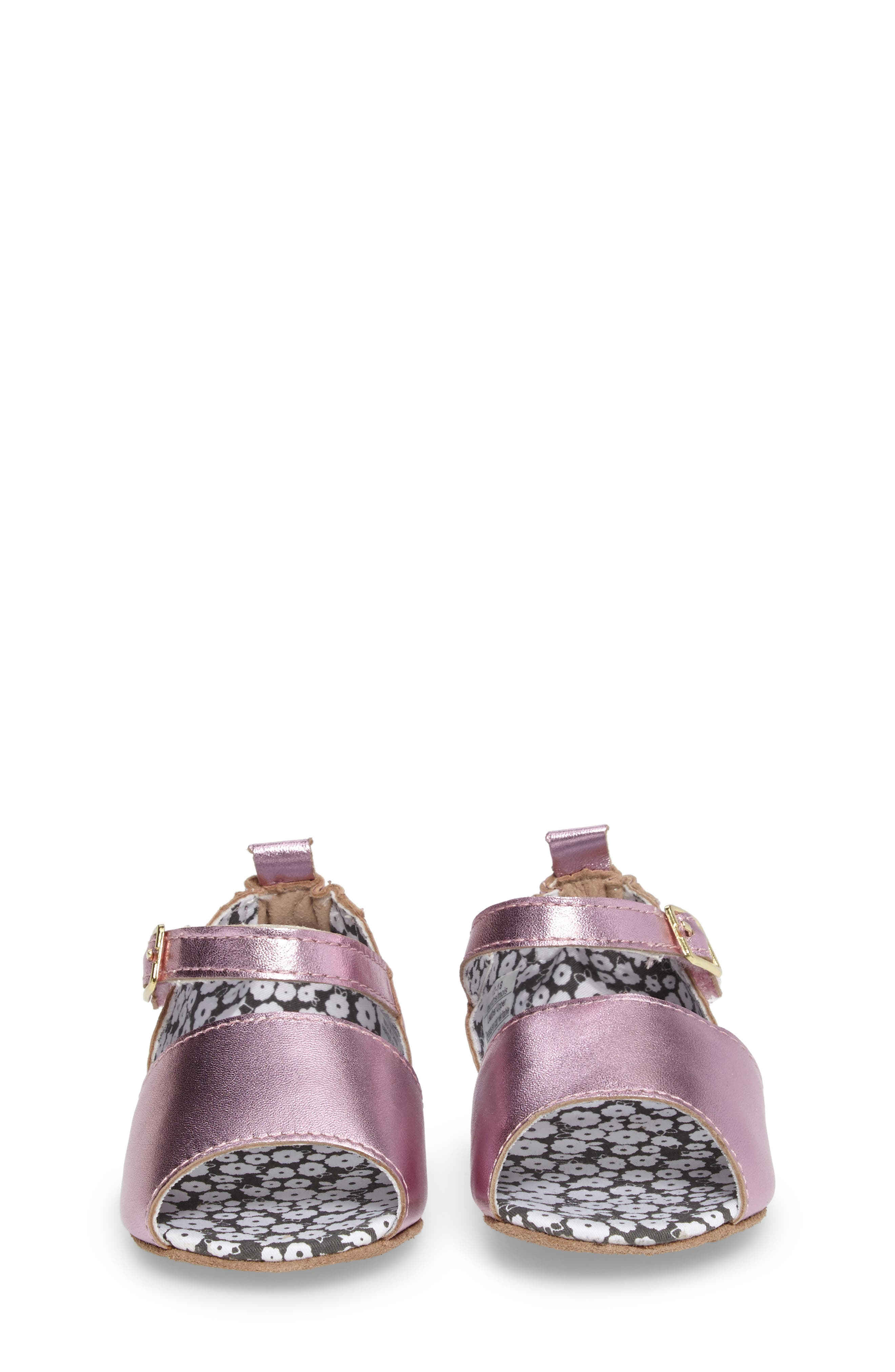 Sophie Crib Shoe,                             Alternate thumbnail 4, color,                             COBBLESTONE